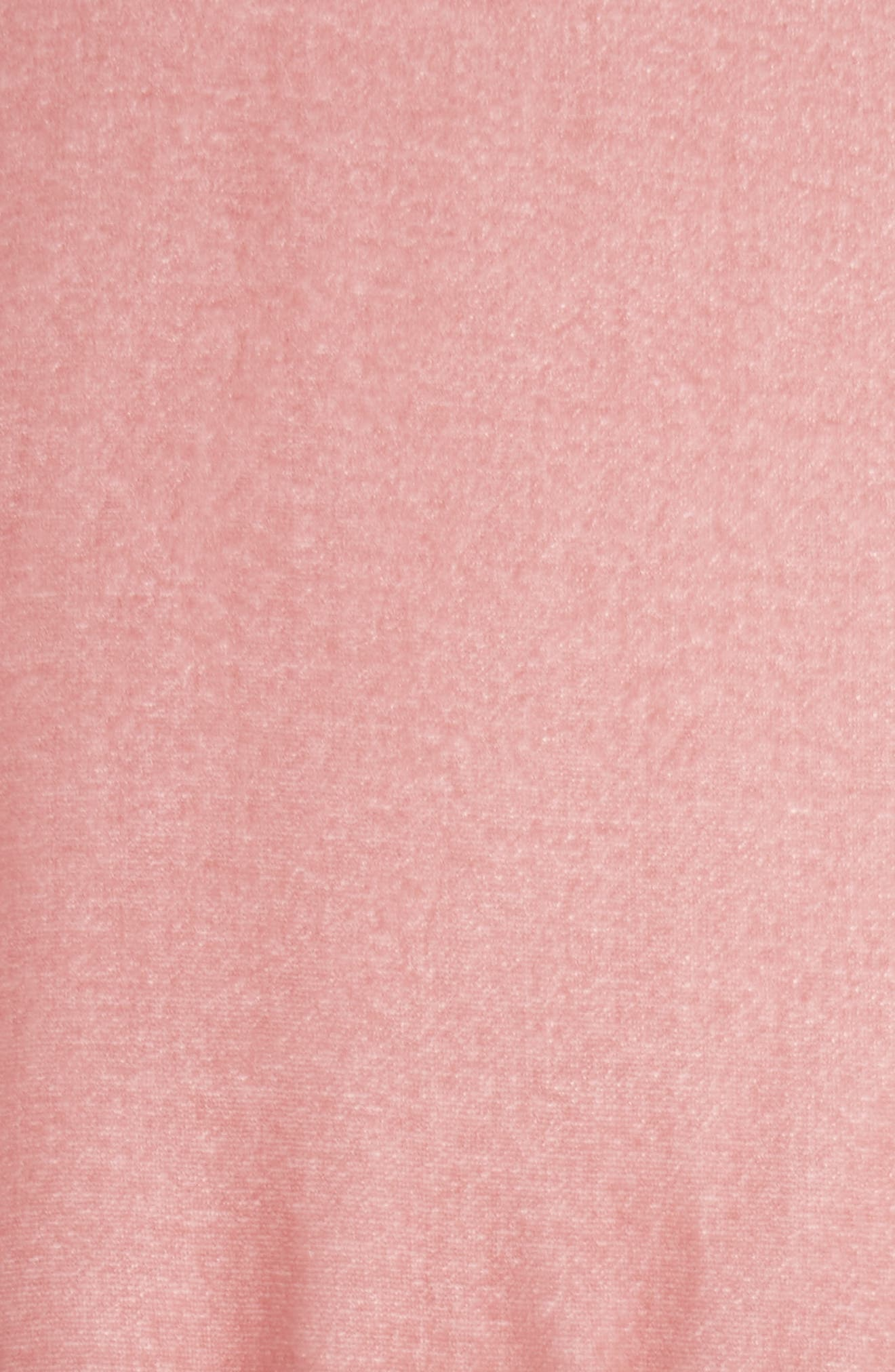 Alternate Image 5  - Moncler Cercis Velvet Quilted Down Puffer Coat
