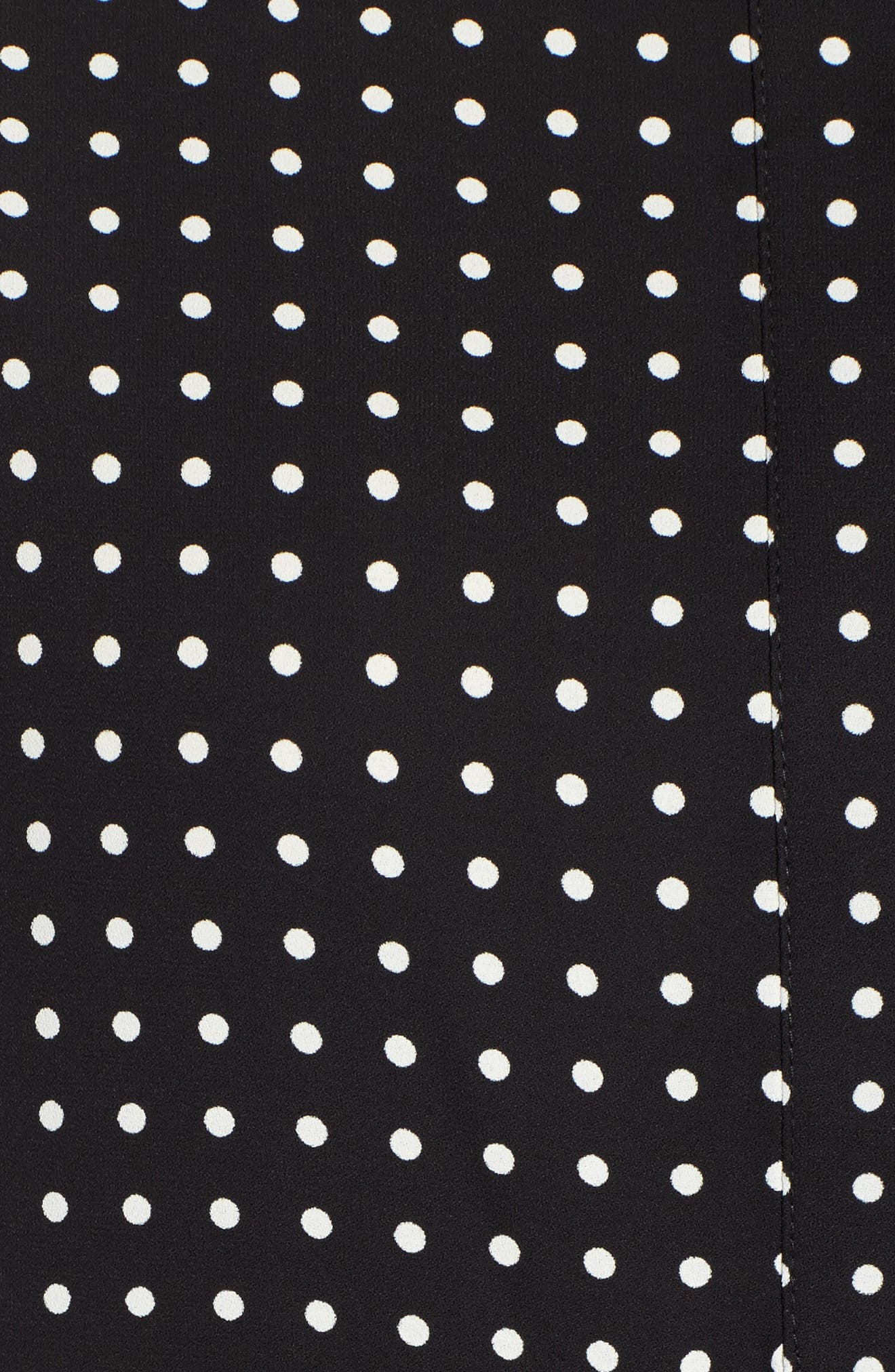 Alternate Image 5  - Anne Klein Mixed Dot Print Blouse