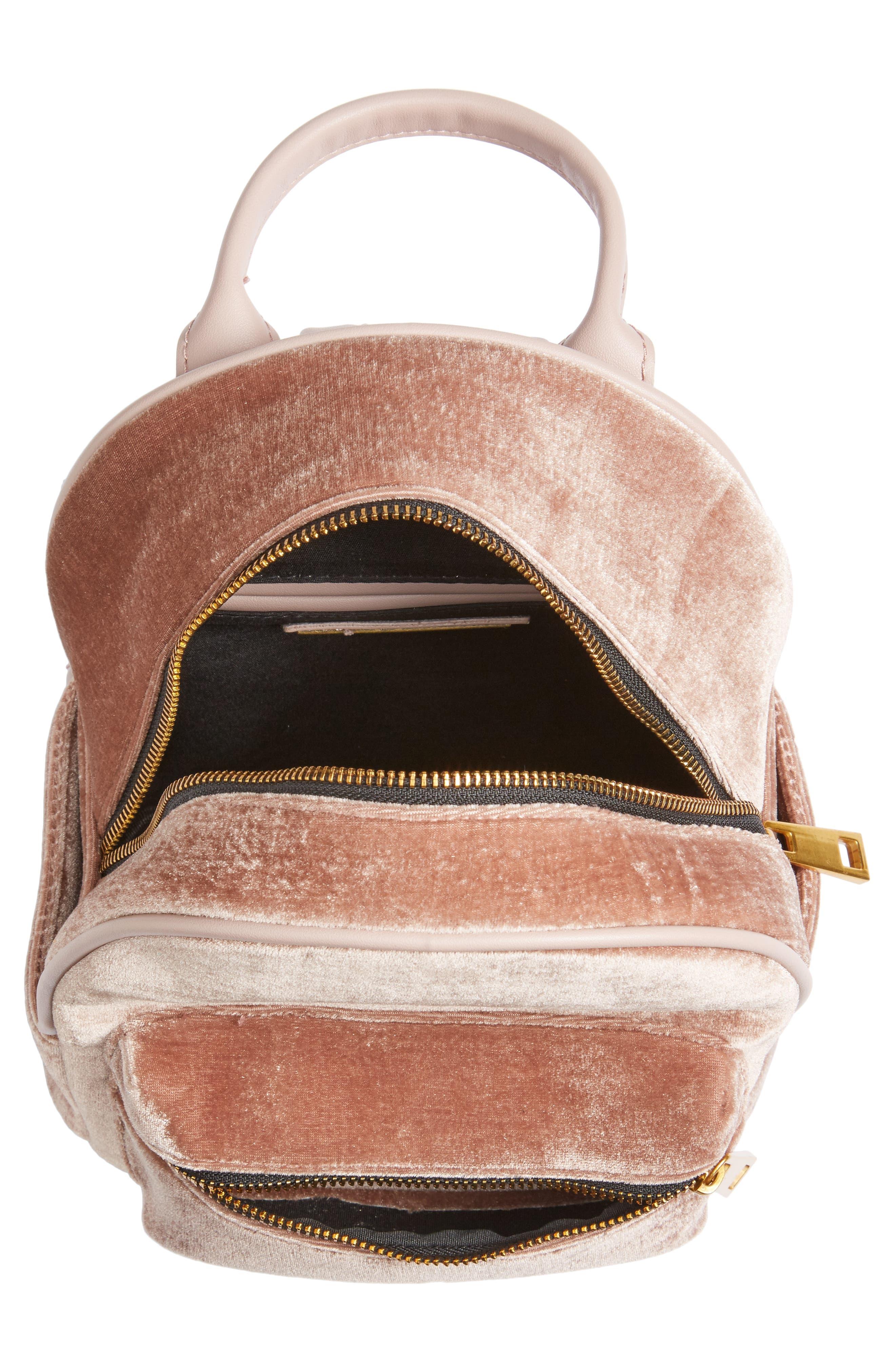 Alternate Image 5  - Street Level Velvet Backpack