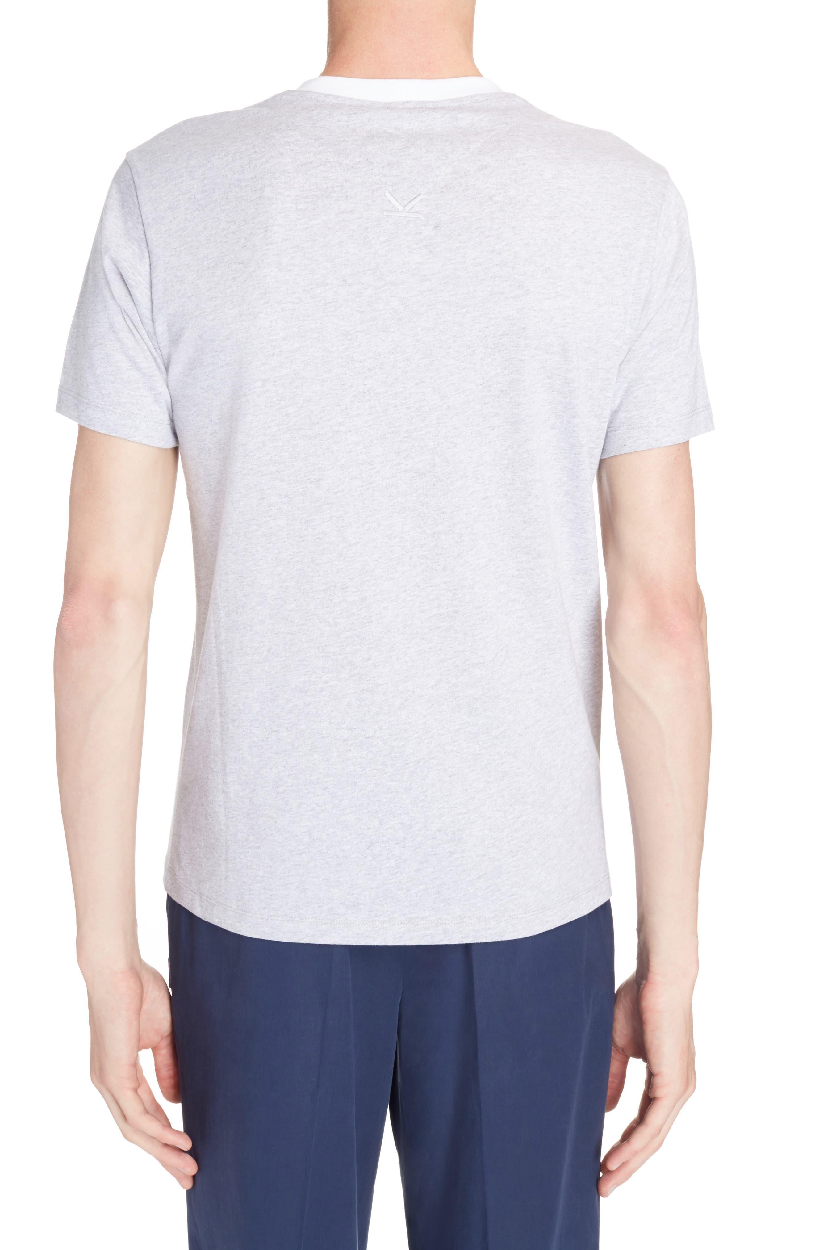 Logo Graphic T-Shirt,                             Alternate thumbnail 2, color,                             Pearl Grey