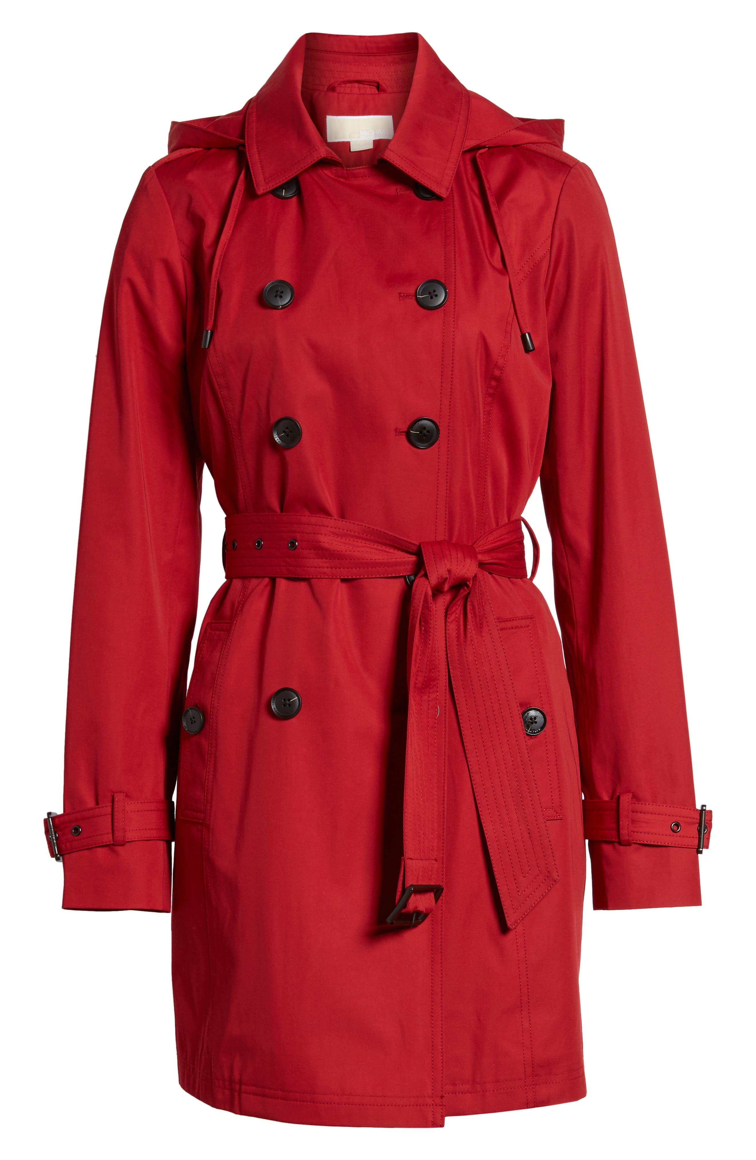Alternate Image 6  - MICHAEL Michael Kors Belted Parka Jacket (Regular & Petite)