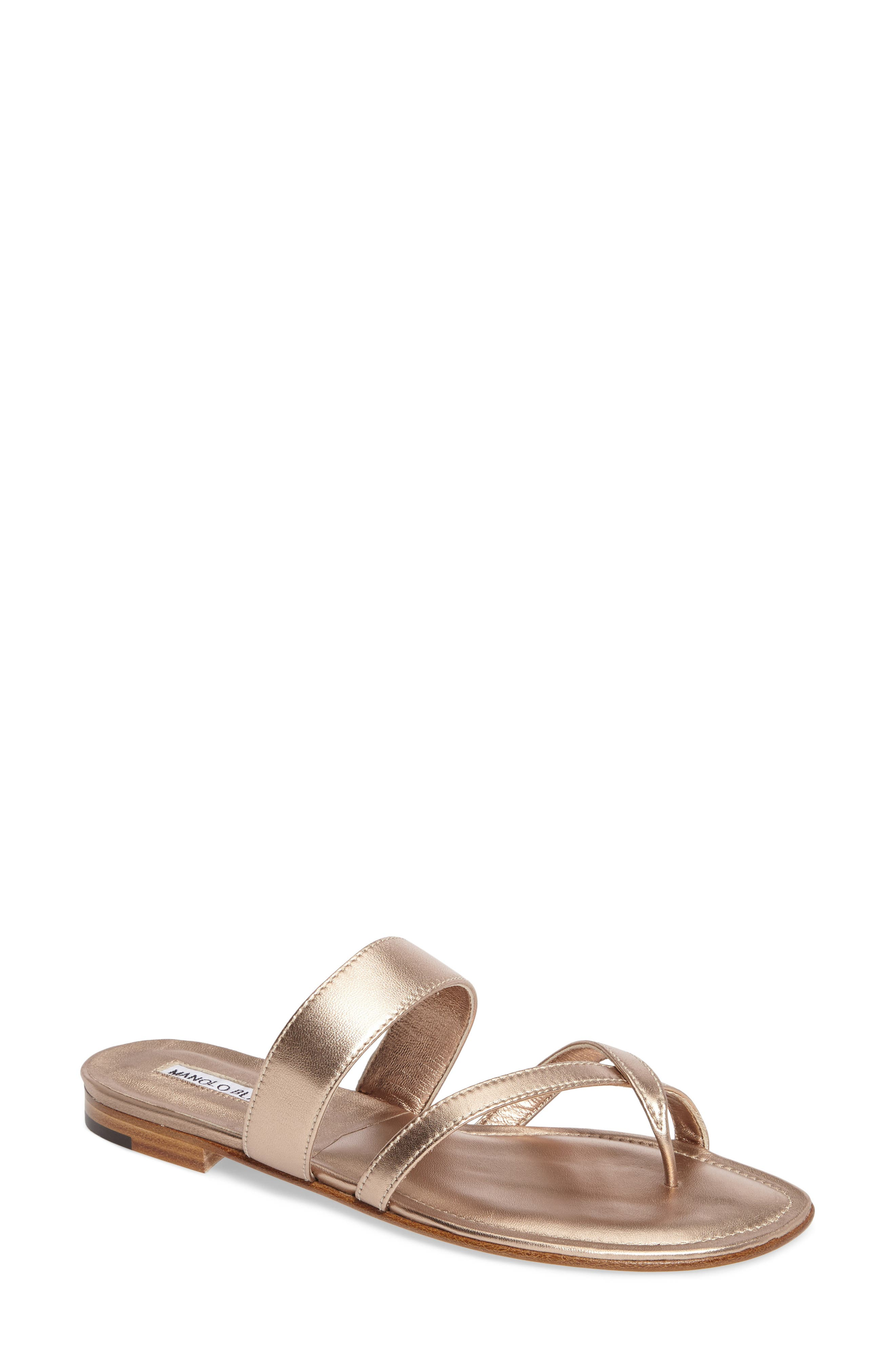 Manolo Blahnik Slide Sandal (Women)
