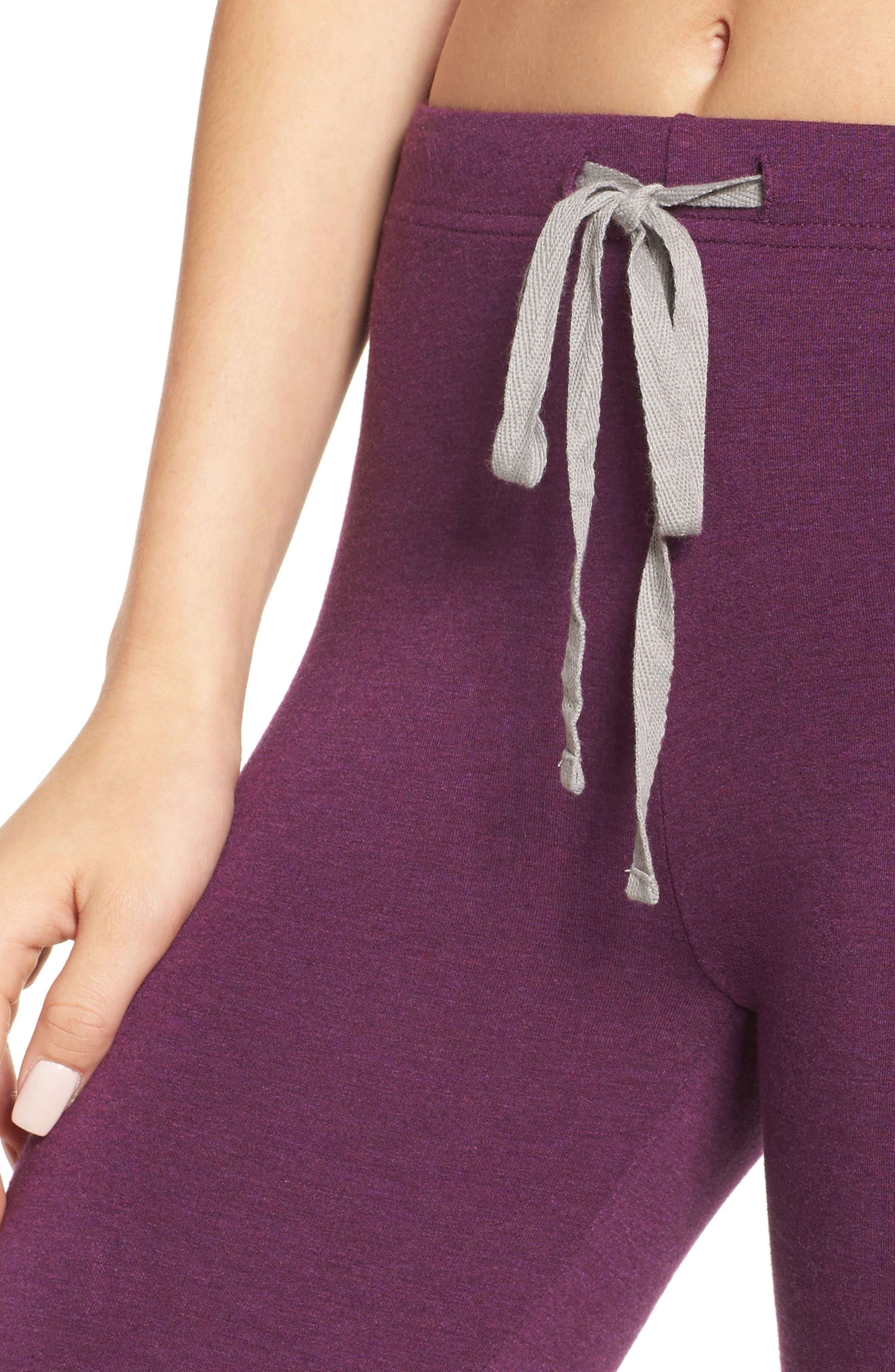 Alternate Image 4  - Honeydew Intimates French Terry Lounge Pants