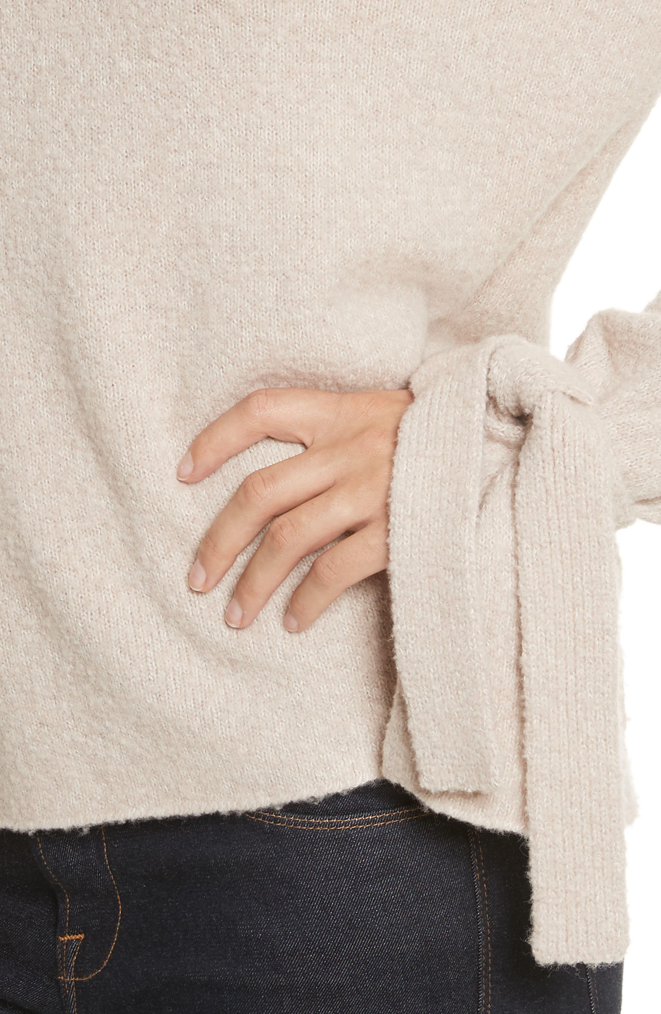 Alternate Image 4  - Brochu Walker Agna Tie Sleeve Pullover