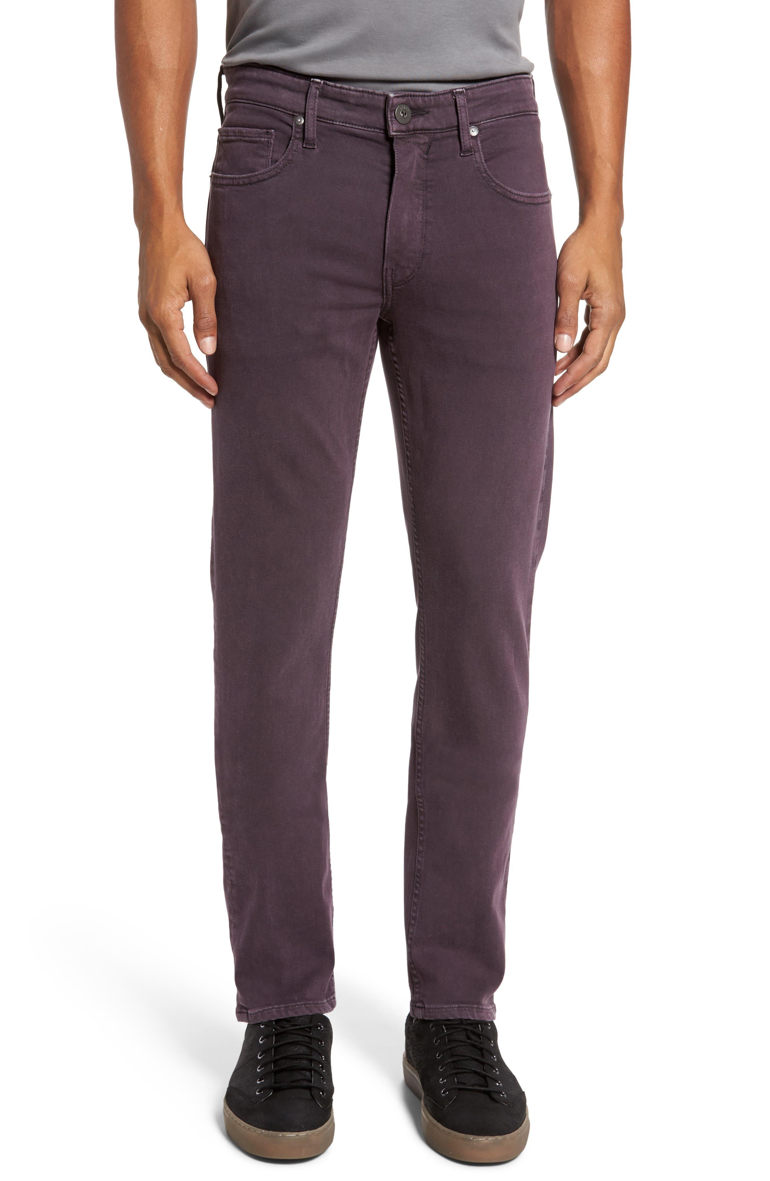 Main Image - PAIGE Transcend - Lennox Slim Fit Jeans (Vintage Port)