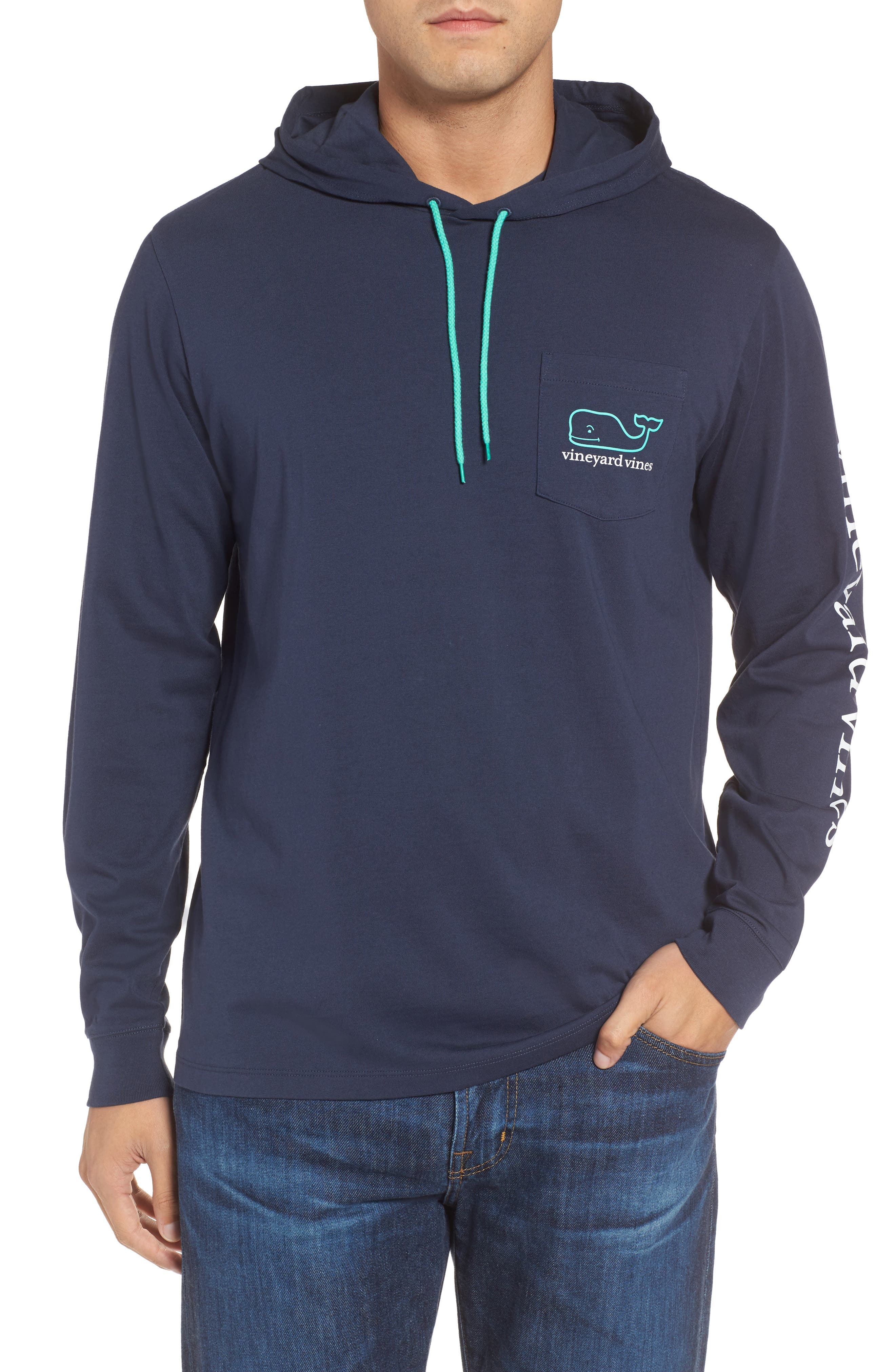 vineyard vines Whale Graphic Hooded T-Shirt