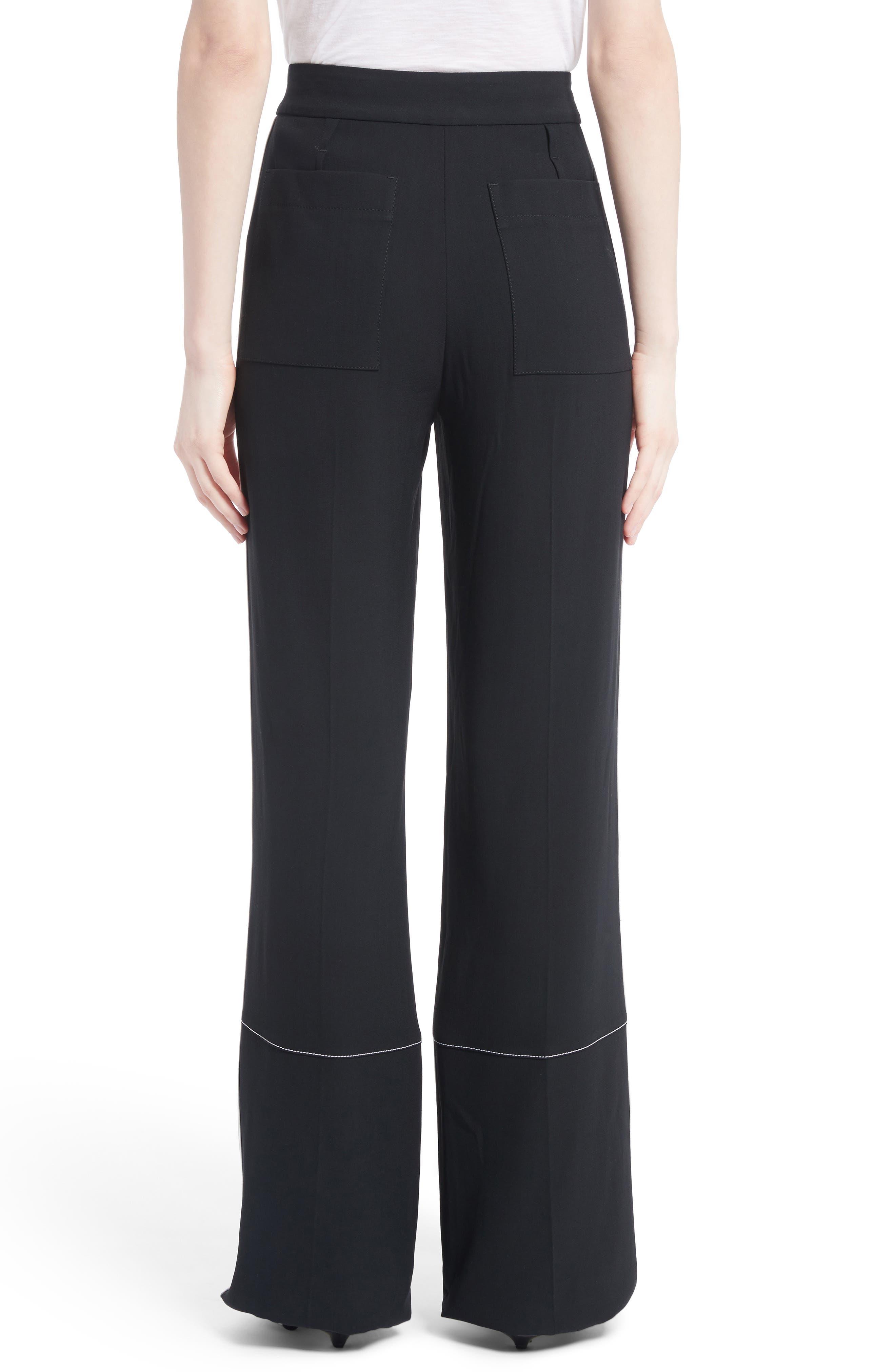 Proenza Schouler Woman Cotton-canvas Wide-leg Pants Forest Green Size 6 Proenza Schouler WkVWcj