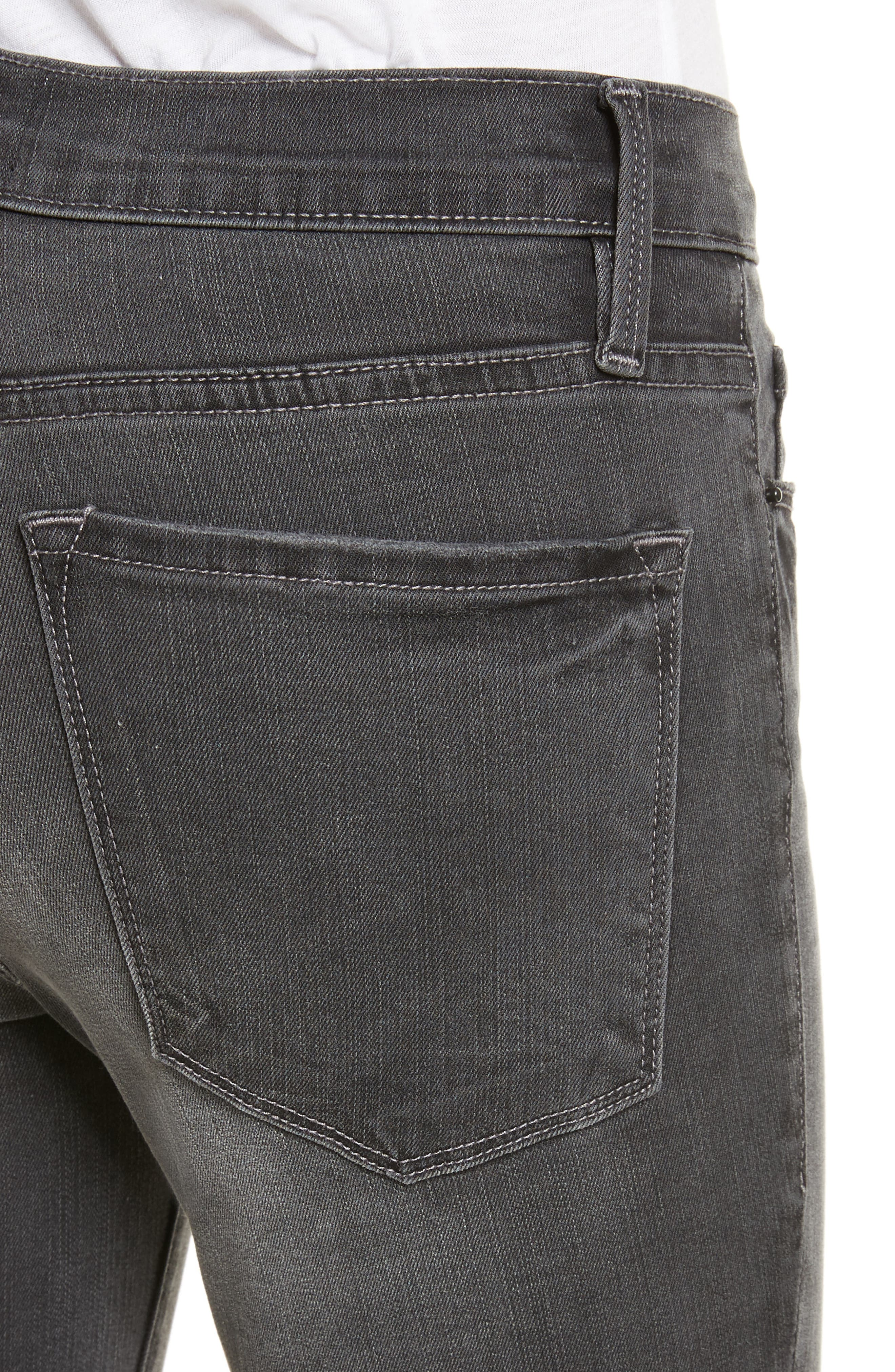 Alternate Image 4  - FRAME Le Skinny de Jeanne Ankle Jeans (Harlow)