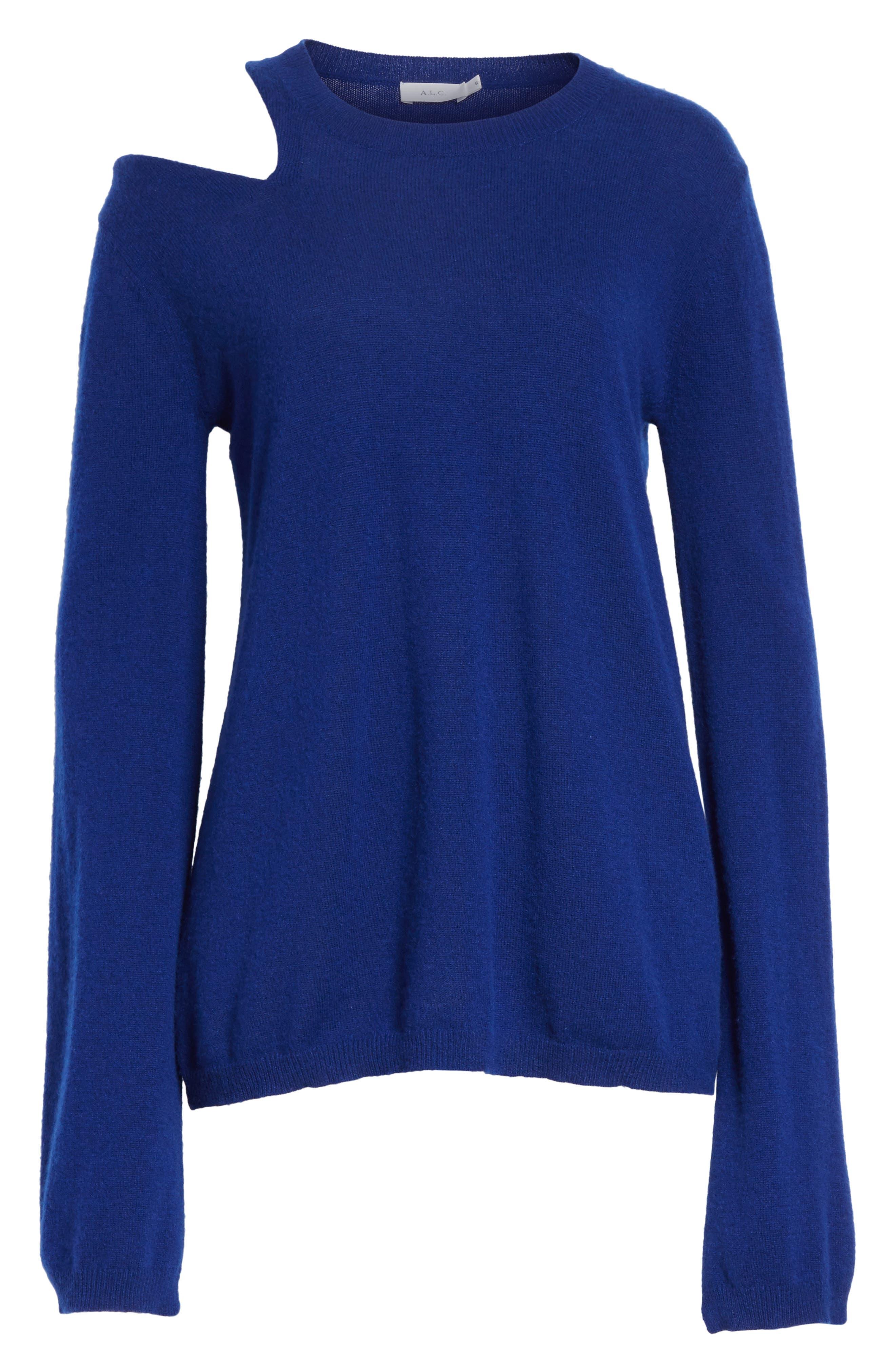 Alternate Image 6  - A.L.C. Hamilton Wool & Cashmere Sweater