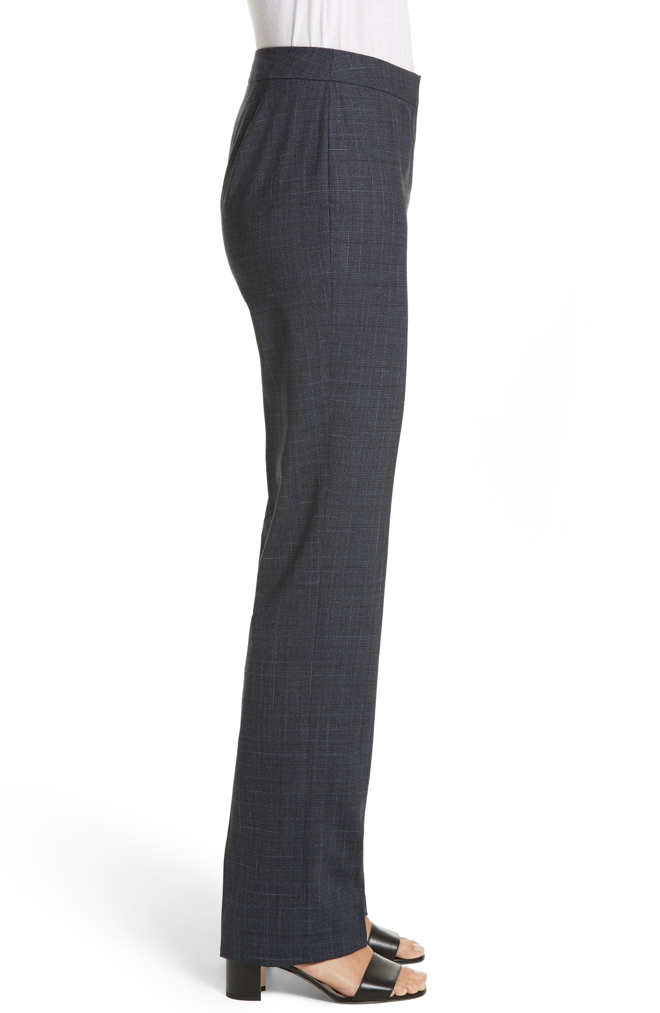 Barrow Stretch Wool Pants,                             Alternate thumbnail 3, color,                             Ink Multi