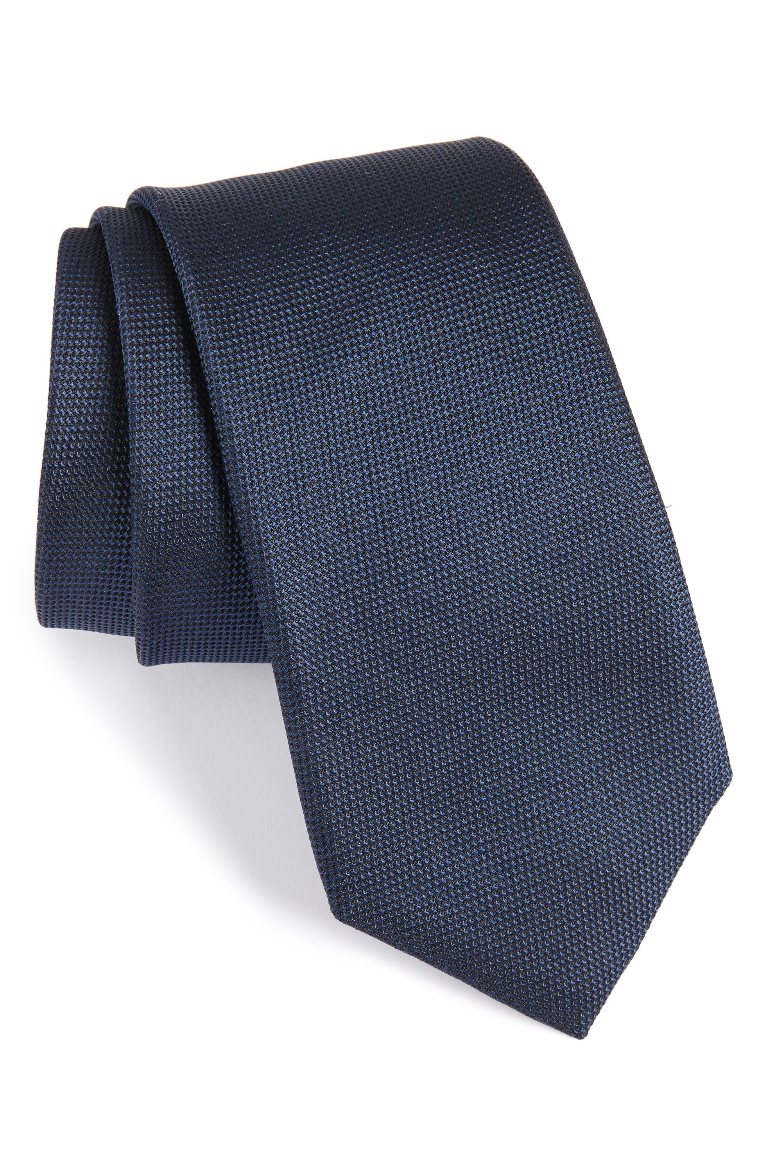 Main Image - BOSS Silk Tie