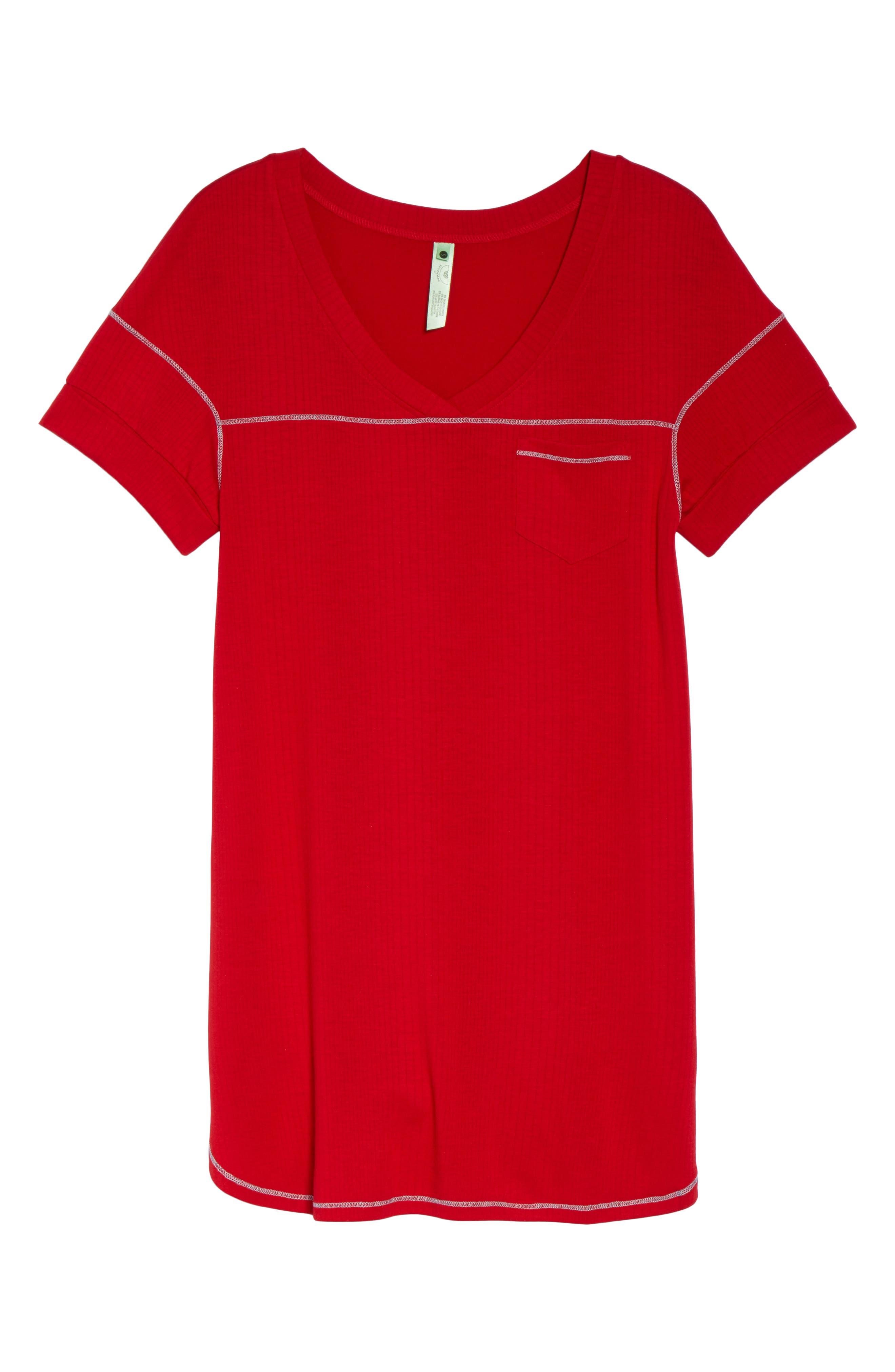 Alternate Image 6  - Honeydew Intimates Rib Sleep Shirt