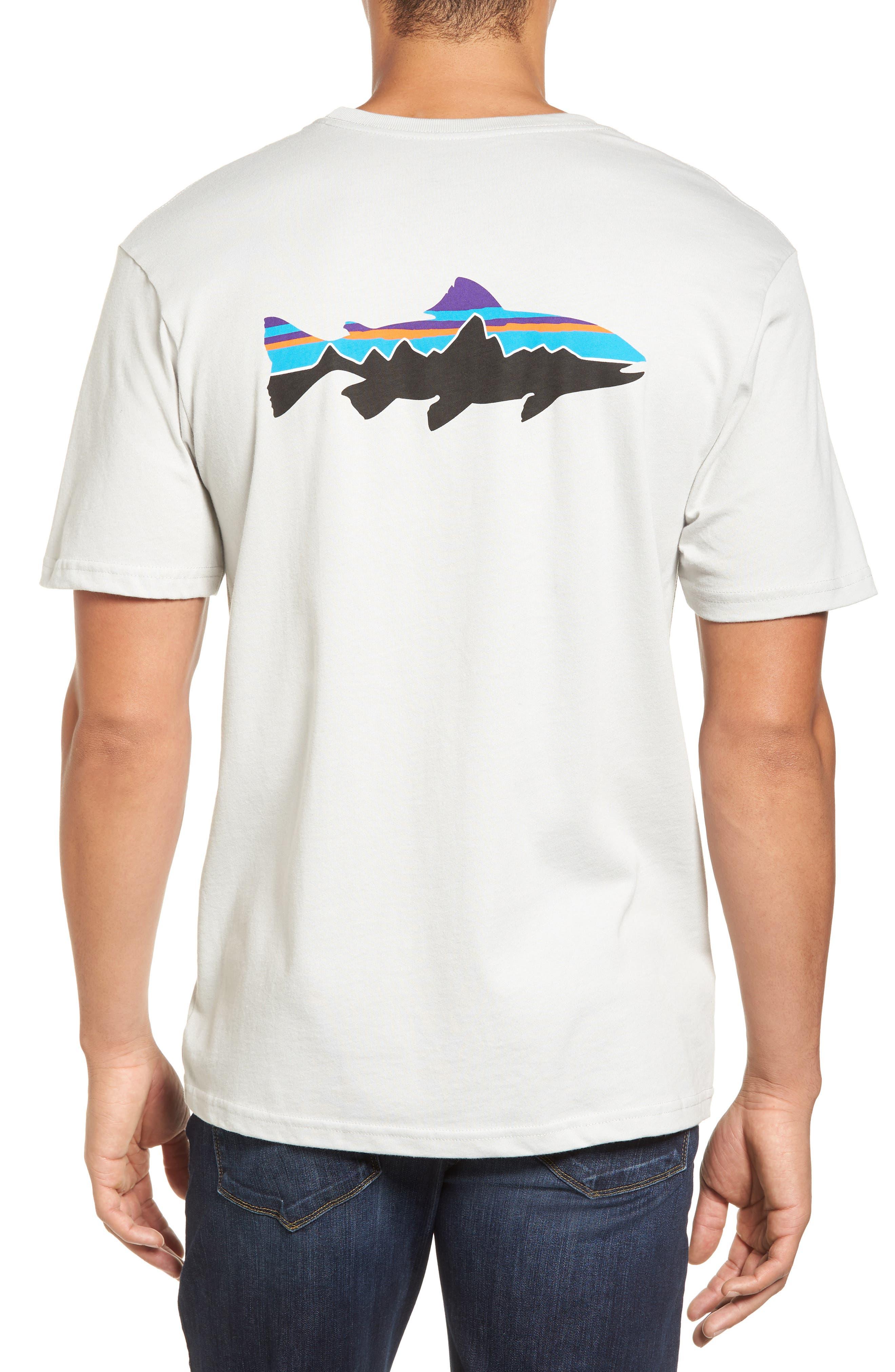Alternate Image 2  - Patagonia 'Trout Fitz Roy' Organic Cotton T-Shirt