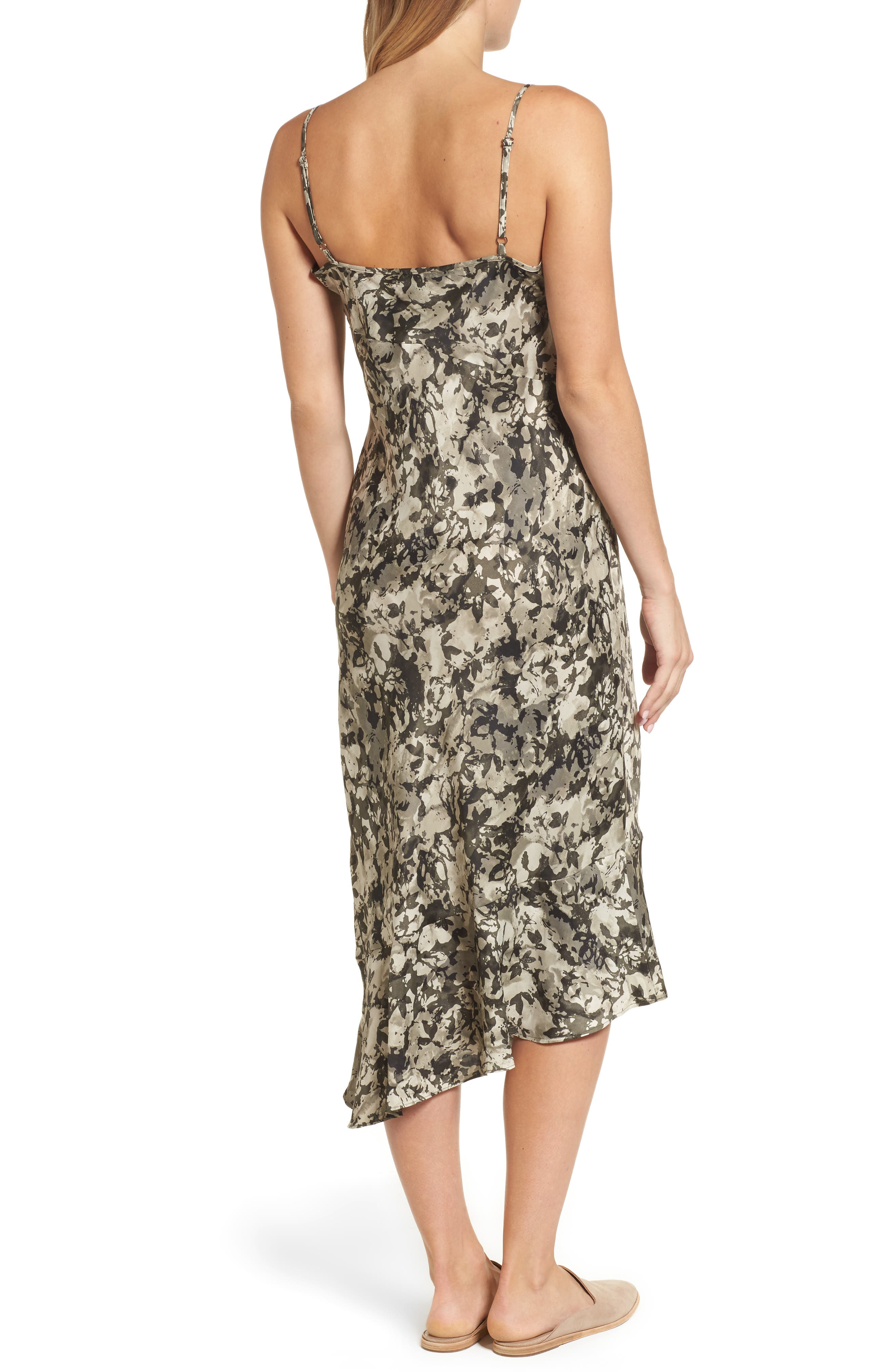 Alternate Image 2  - Kenneth Cole New York Camisole Midi Dress