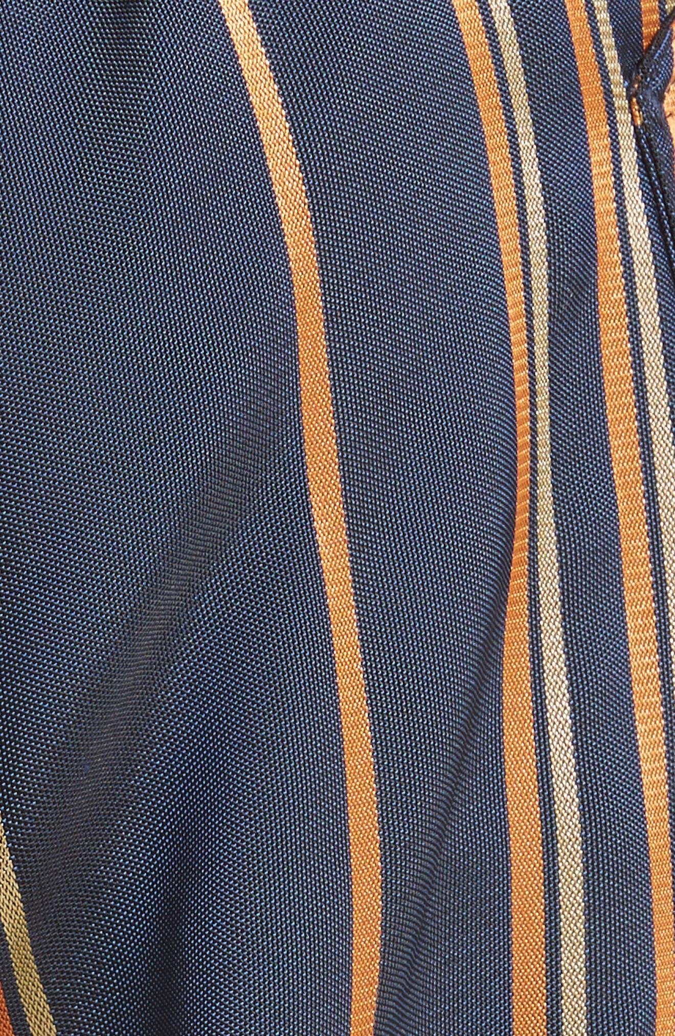 Stripe Pants,                             Alternate thumbnail 7, color,                             Mykonos/Papaya