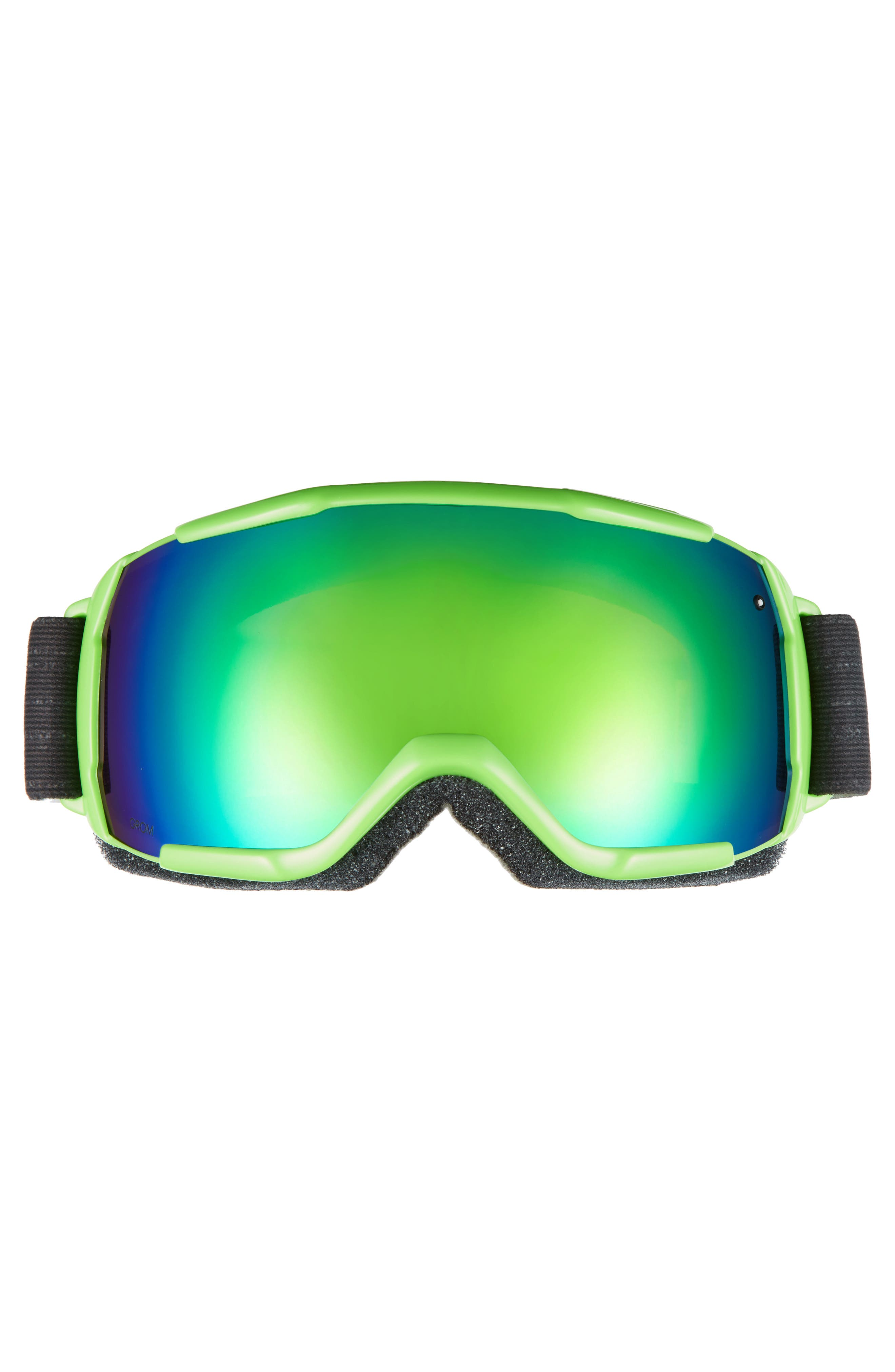 Grom Snow Goggles,                             Alternate thumbnail 2, color,                             Reactor Tracking/ Mirror