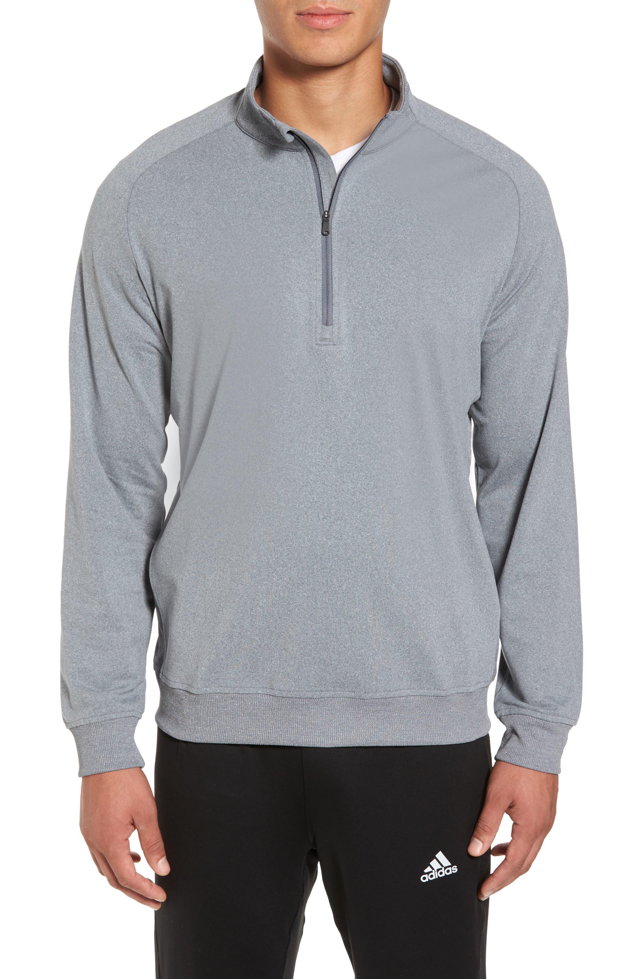 adidas quarter zip. main image - adidas club quarter zip pullover