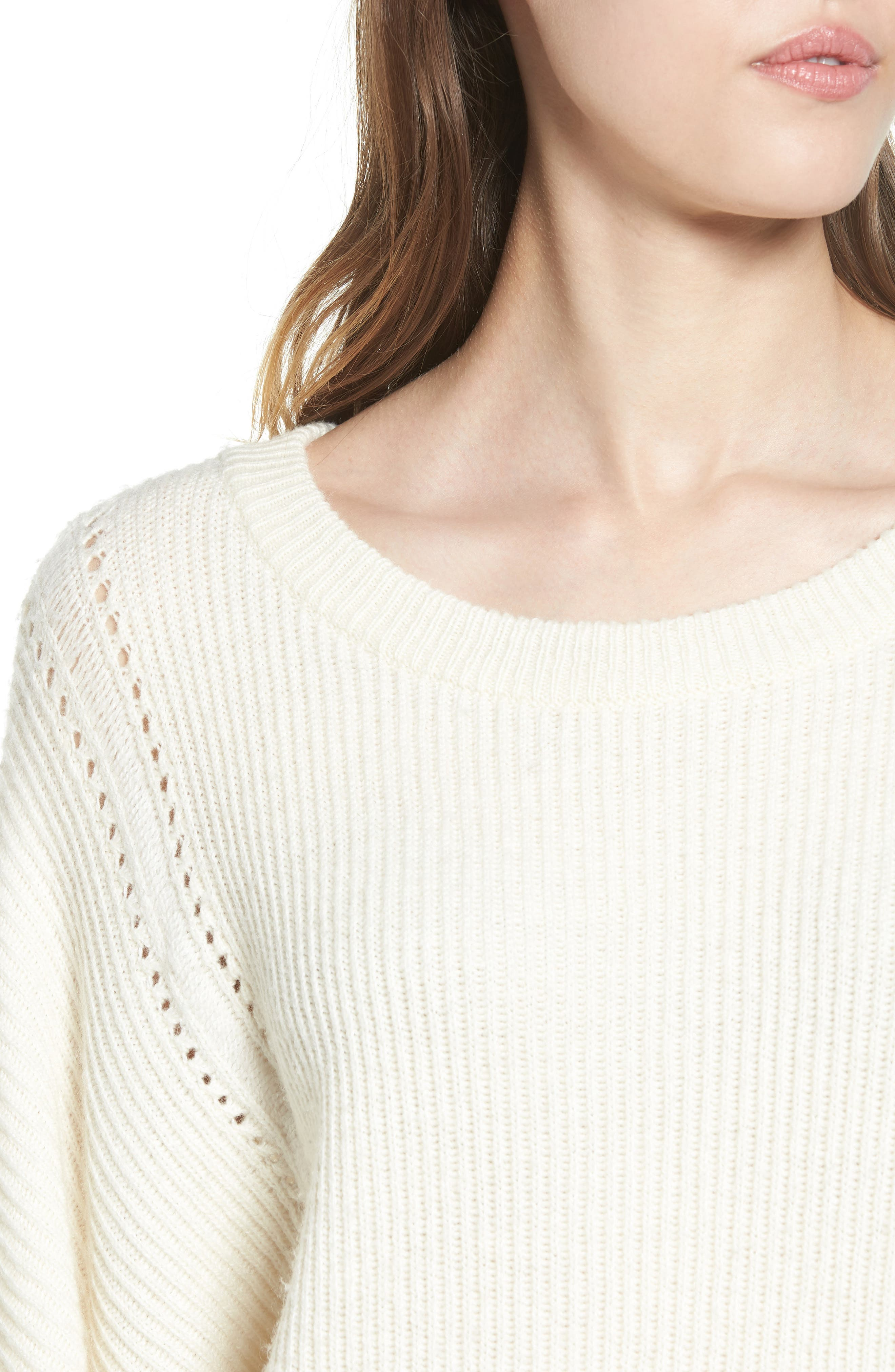 Alternate Image 4  - Ella Moss Delfina Ribbed Sweater