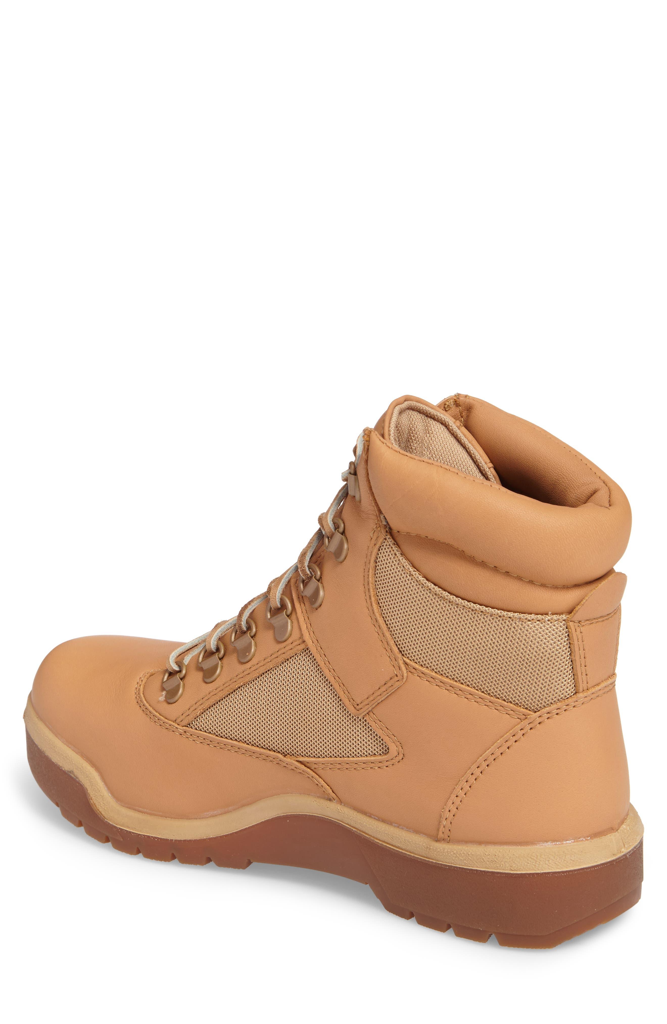 Waterproof Boot,                             Alternate thumbnail 2, color,                             Natural Hoween/ Latigo Leather