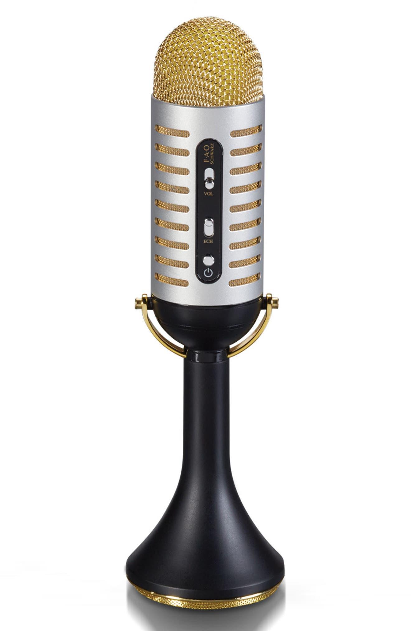 FAO Schwarz Bluetooth® Vintage Microphone (Kids)