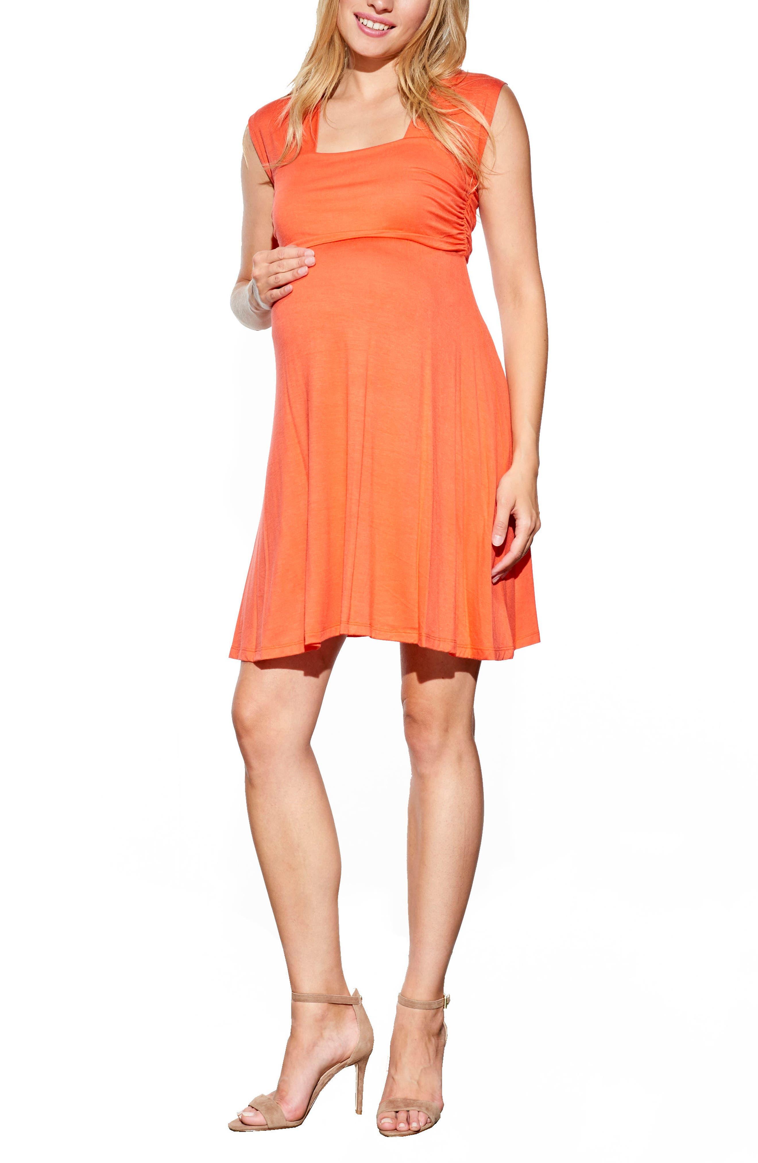 Main Image - Maternal America 'Mini Sweetheart' Dress