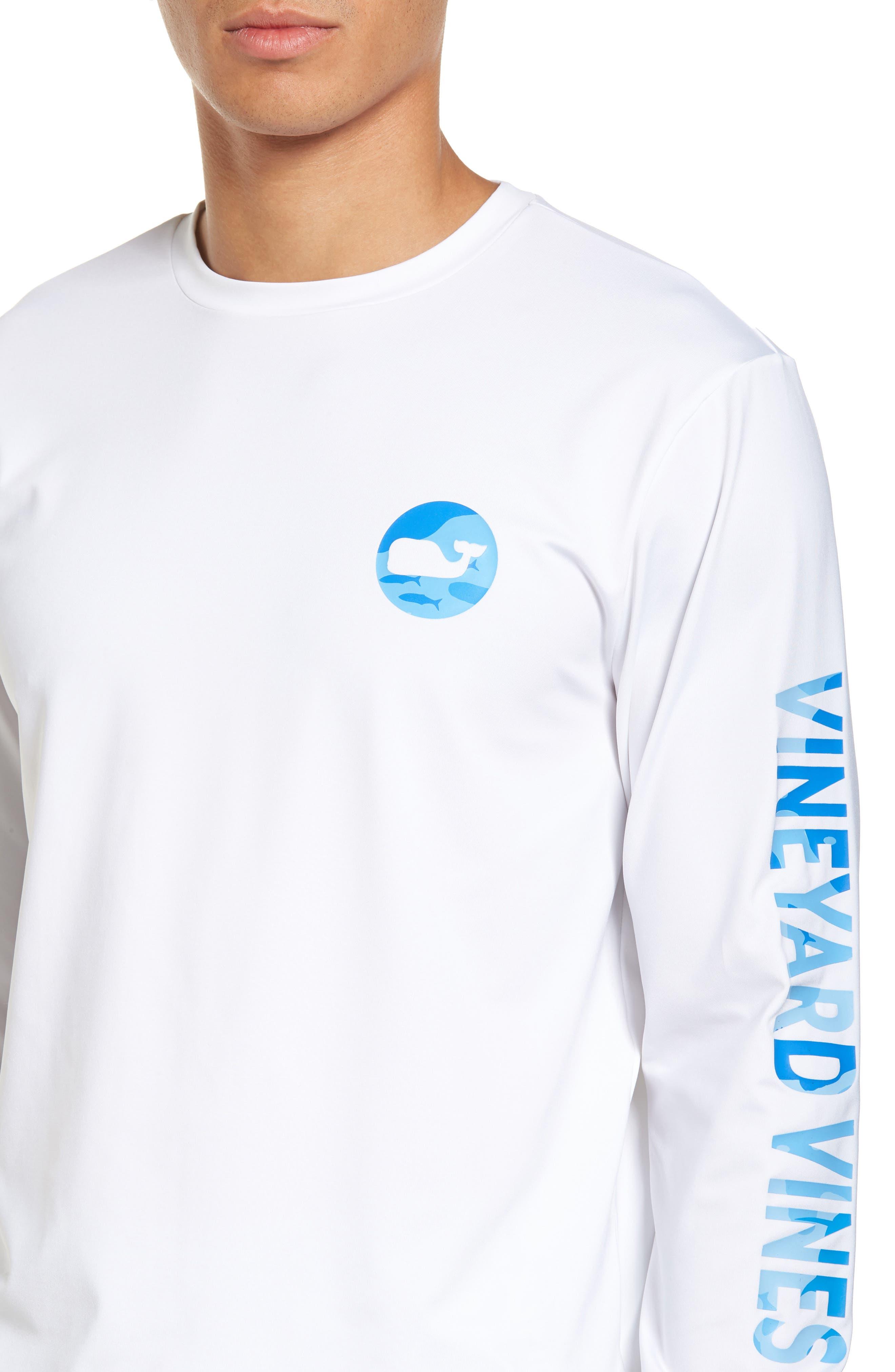 Alternate Image 4  - vineyard vines Marlin Whale Dot Performance T-Shirt