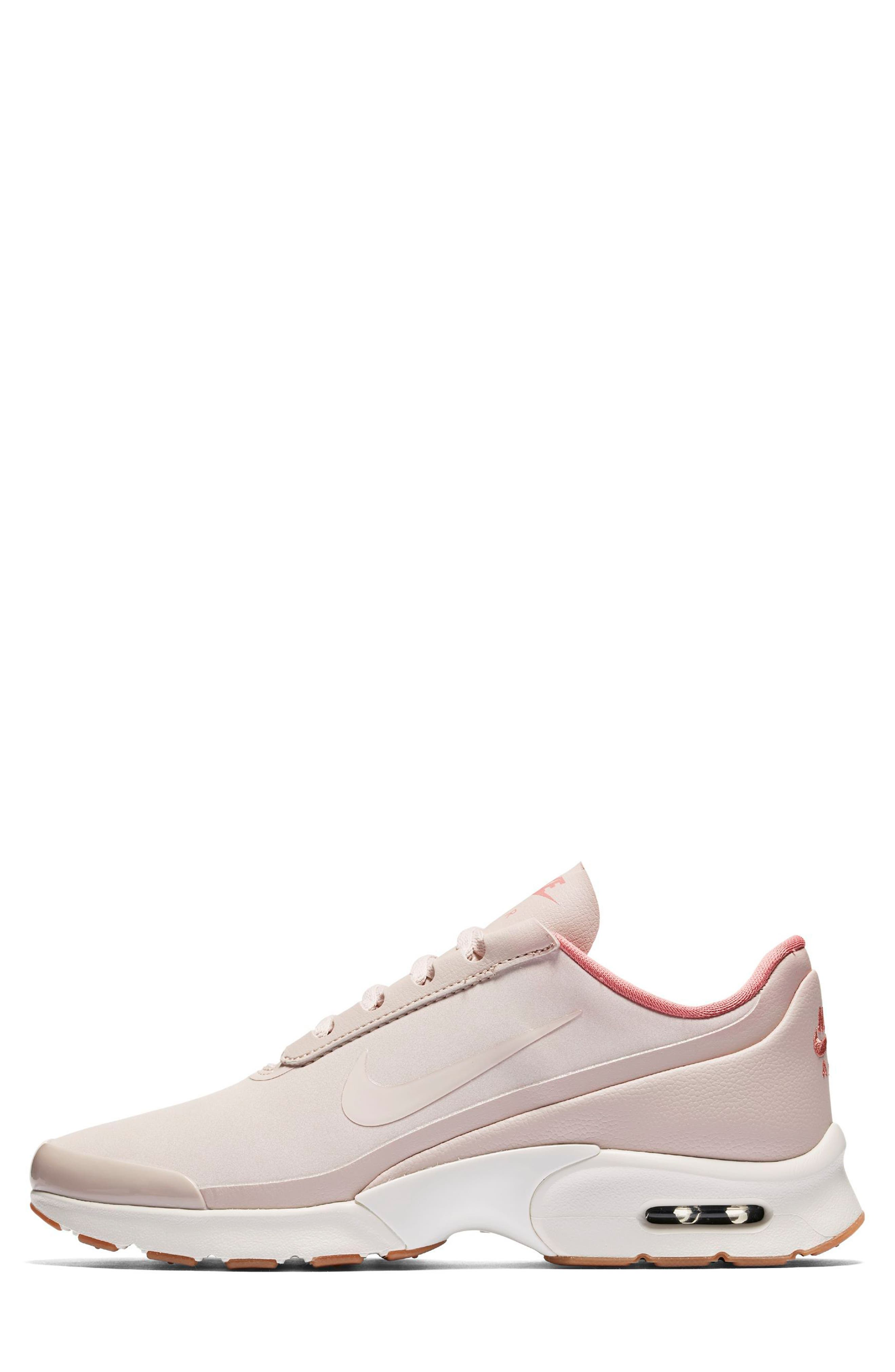 Air Max Jewell SE Sneaker,                             Alternate thumbnail 3, color,                             Red/ Red Stardust/ Sail