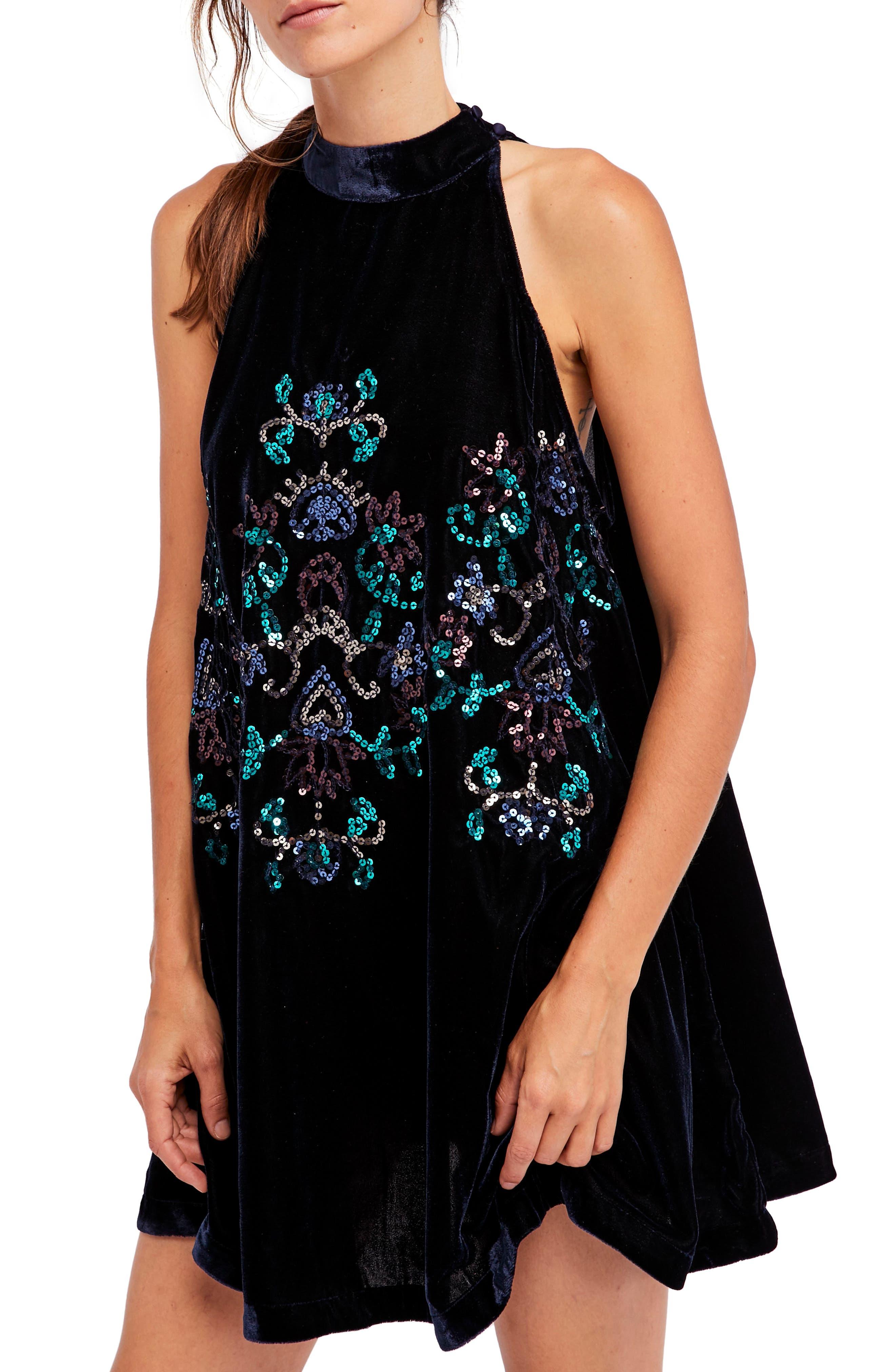 Main Image - Free People Jill's Sequin Swing Dress