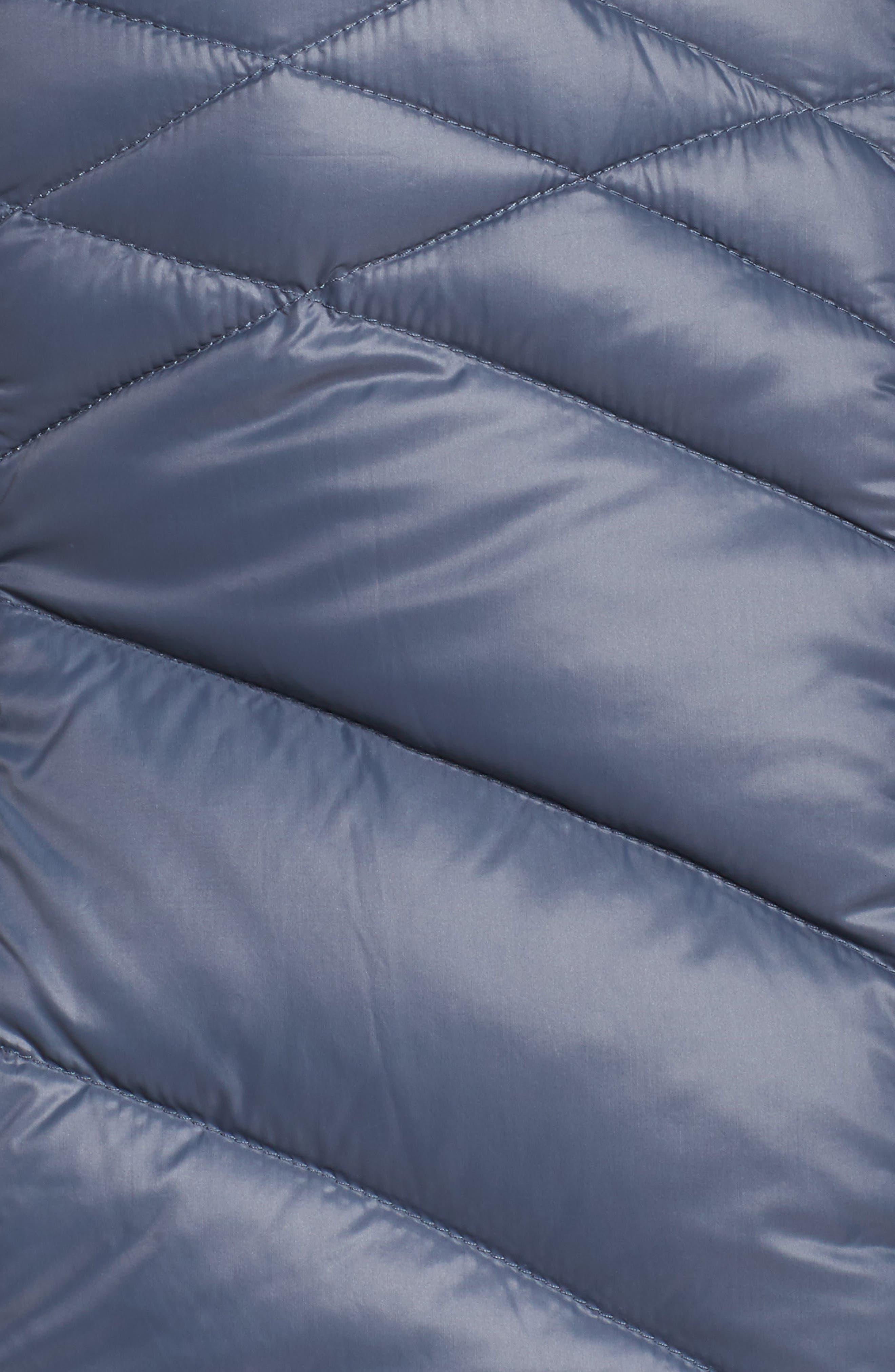 Alternate Image 6  - Halogen® Hooded Down Blend Puffer Jacket (Plus Size)