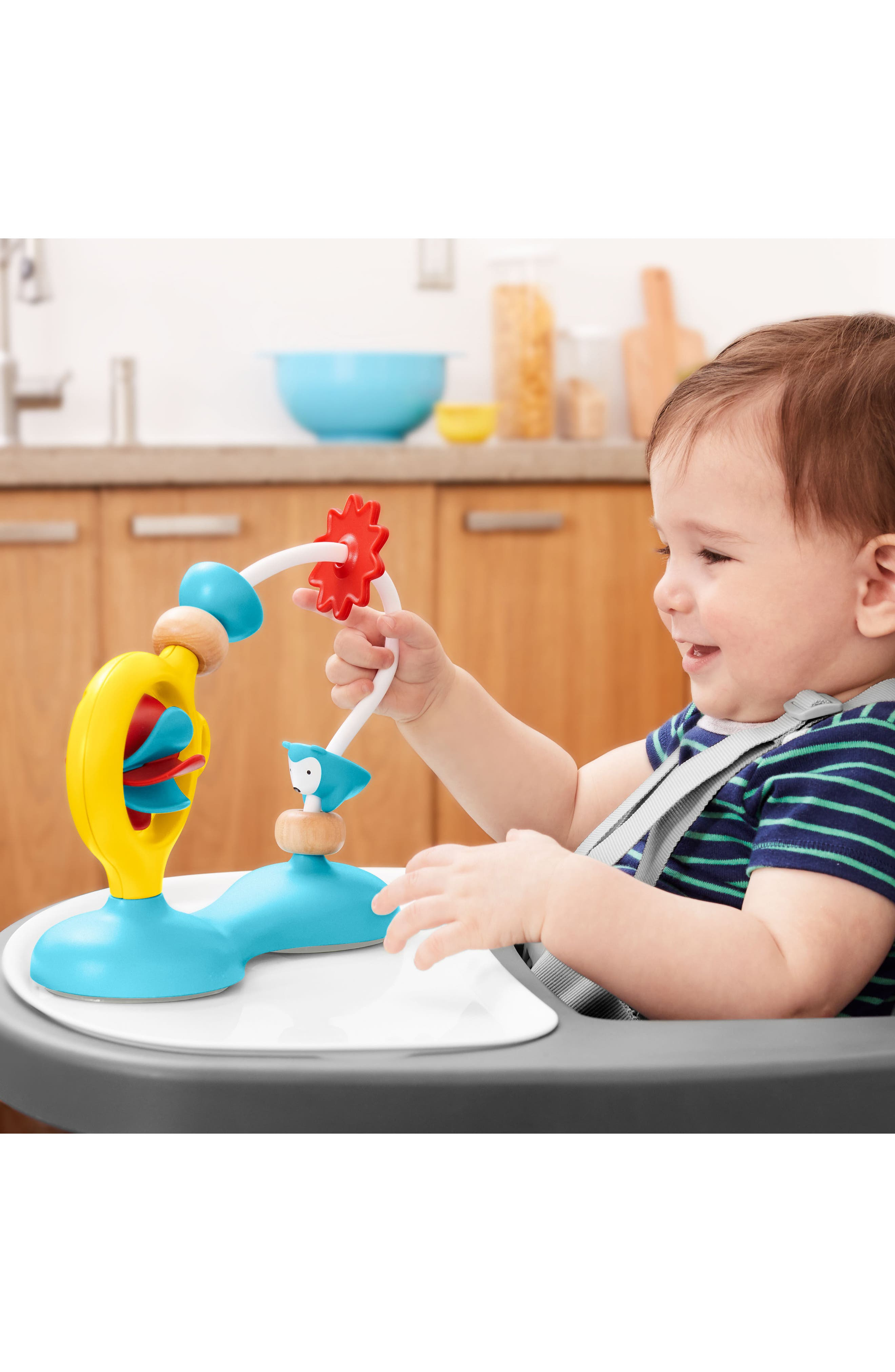 Explore N More Bead Mover Highchair Toy,                             Alternate thumbnail 4, color,                             Bead Mover