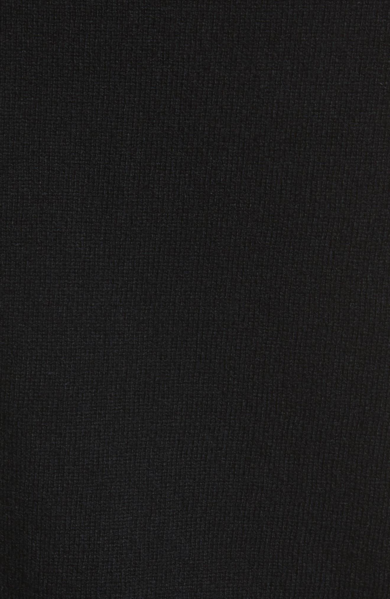 Alternate Image 5  - Comme des Garçons PLAY Gold Heart Patch Wool Cardigan