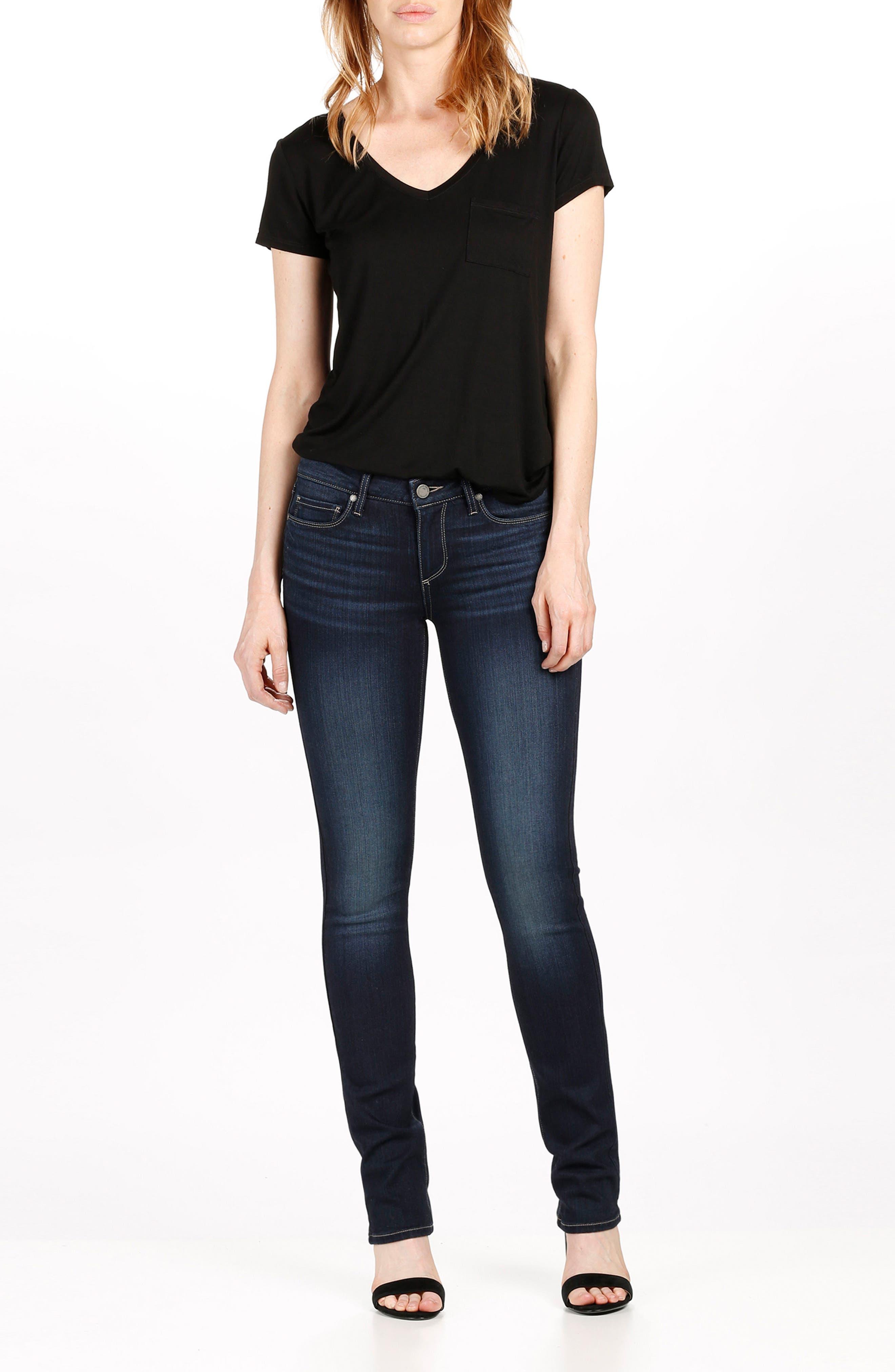 Alternate Image 2  - PAIGE Skyline Straight Jeans (Gardena)