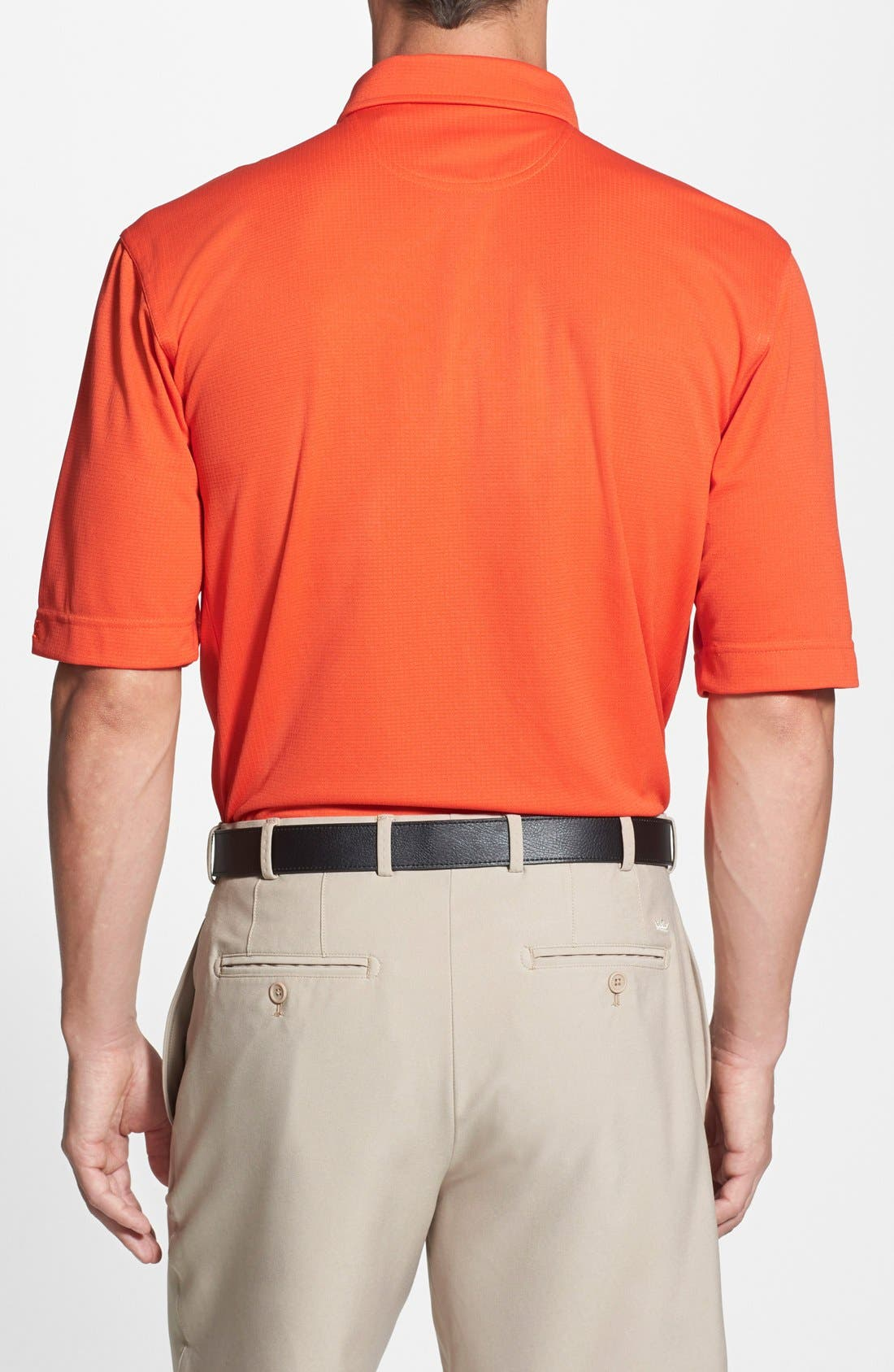Alternate Image 2  - Cutter & Buck Cleveland Browns - Genre DryTec Moisture Wicking Polo