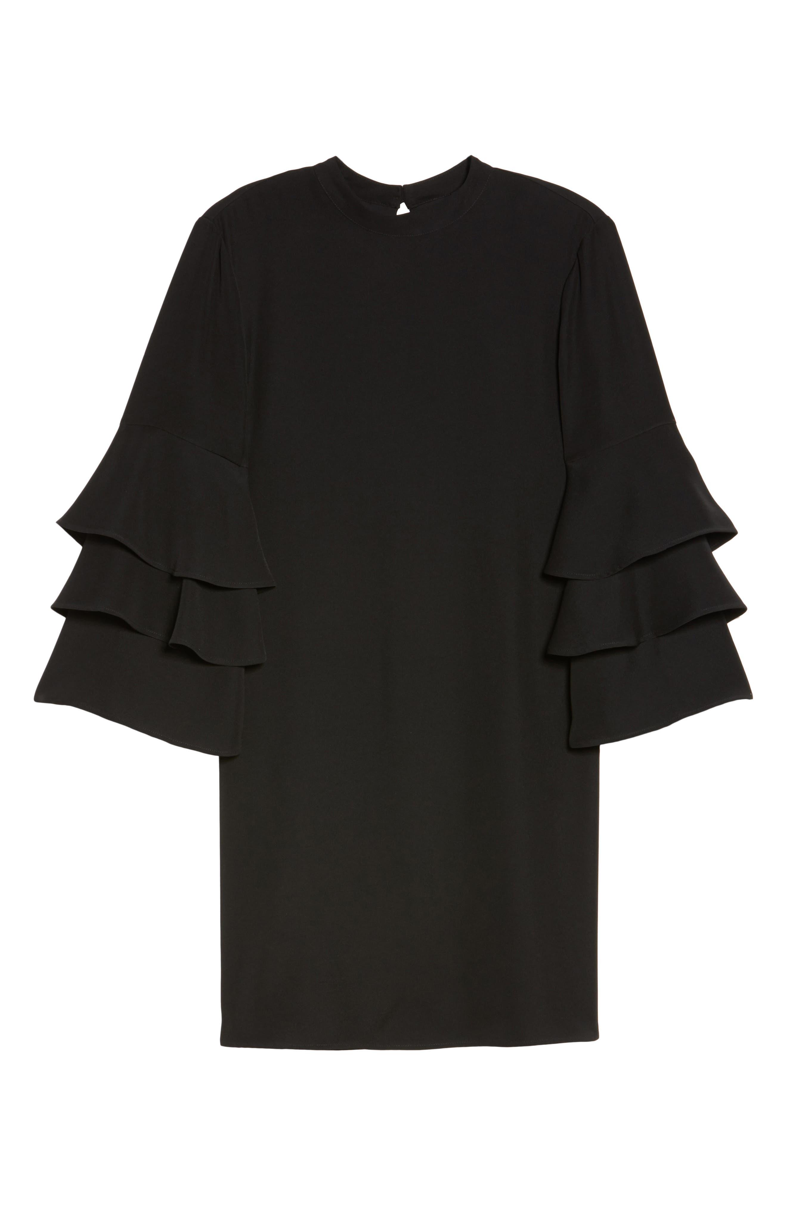 Alternate Image 6  - Chelsea28 Ruffle Sleeve Shift Dress