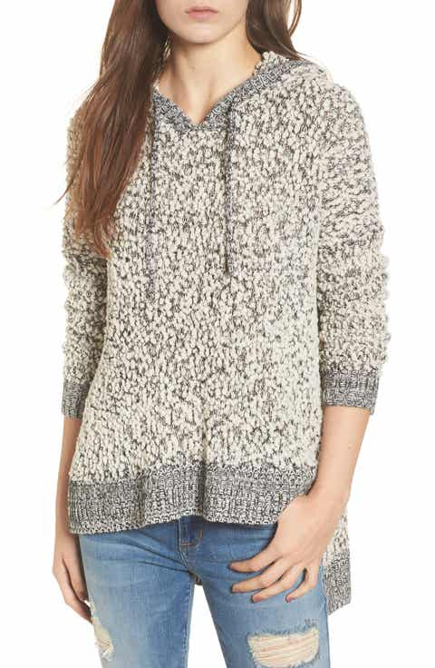 Love by Design Knit Hooded Sweater