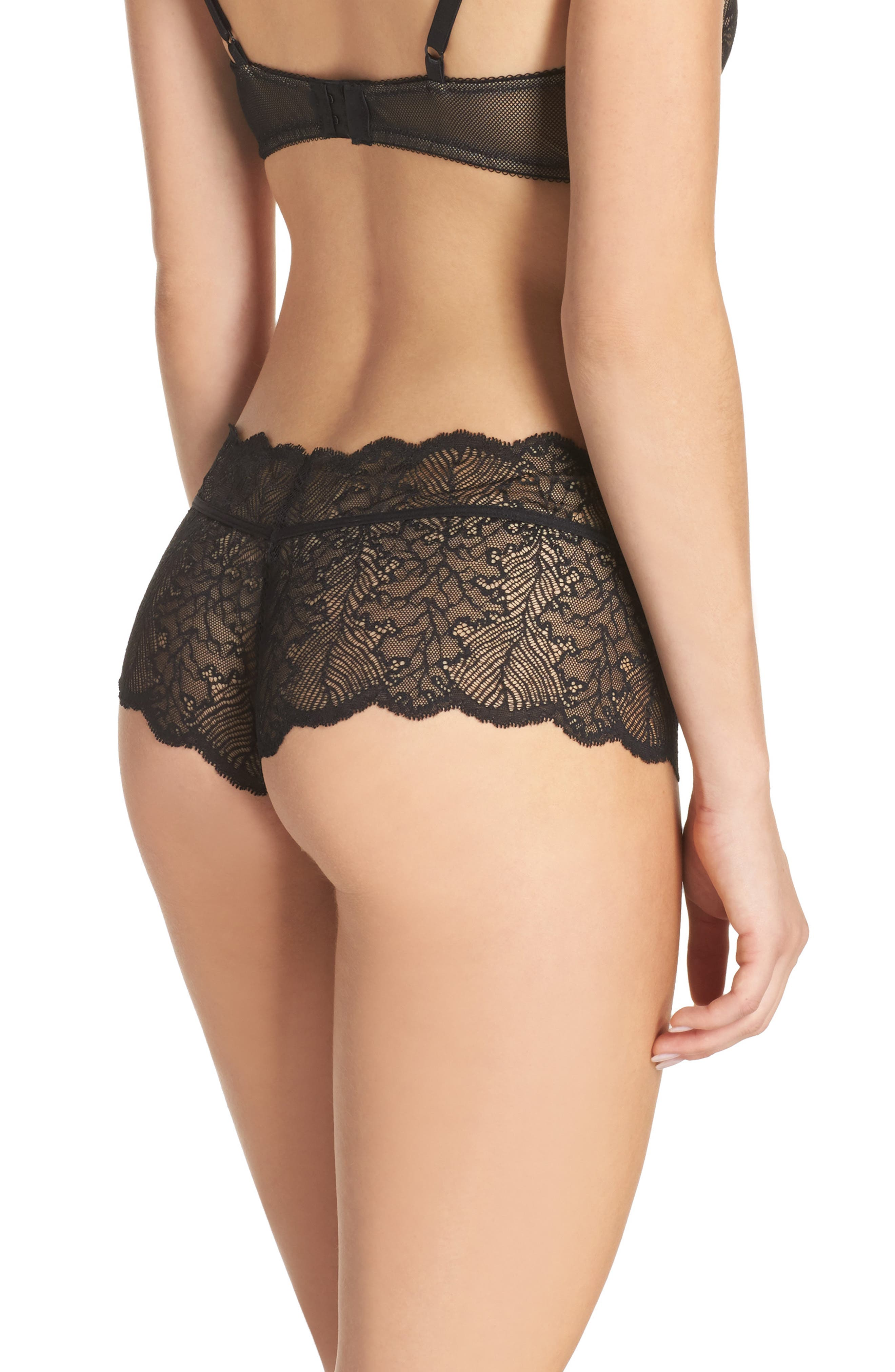 Alternate Image 2  - b.tempt'd by Wacoal Lace Boyshorts