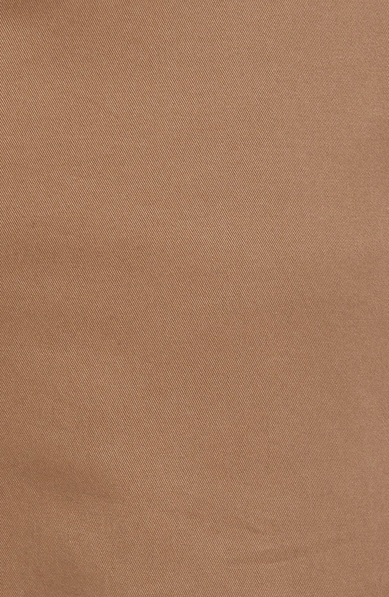 Ballard Slim Fit Stretch Chinos,                             Alternate thumbnail 6, color,                             Brown Shitake