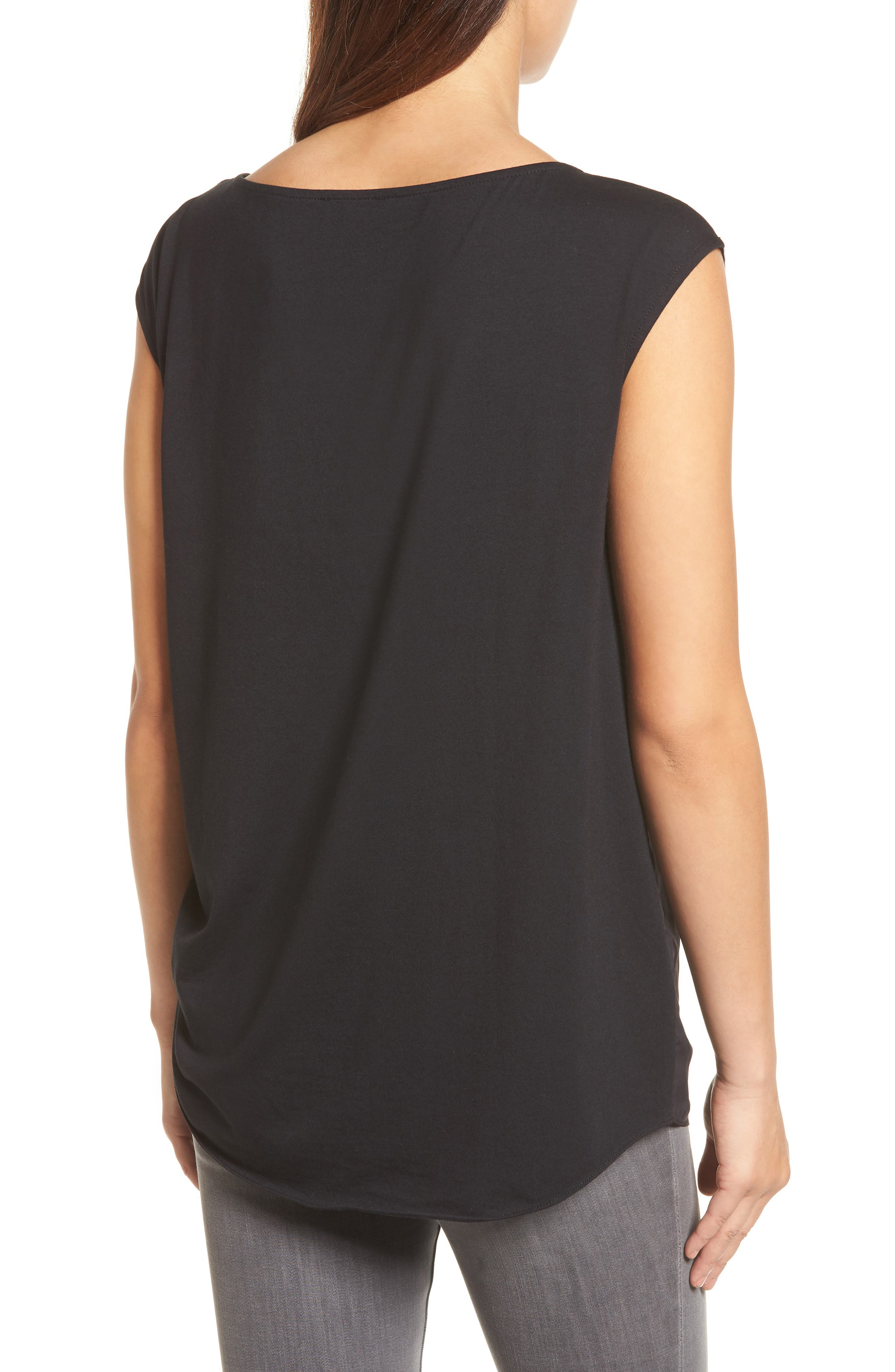 Alternate Image 2  - Kenneth Cole New York Side Tie Tee