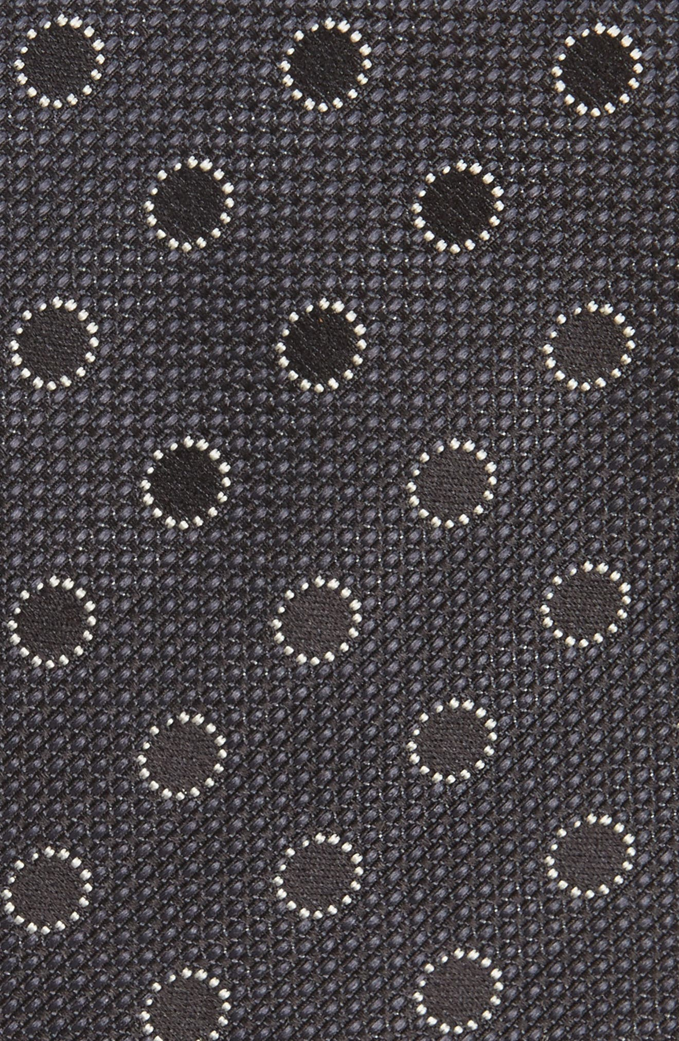 Alternate Image 2  - Canali Dot Silk Tie