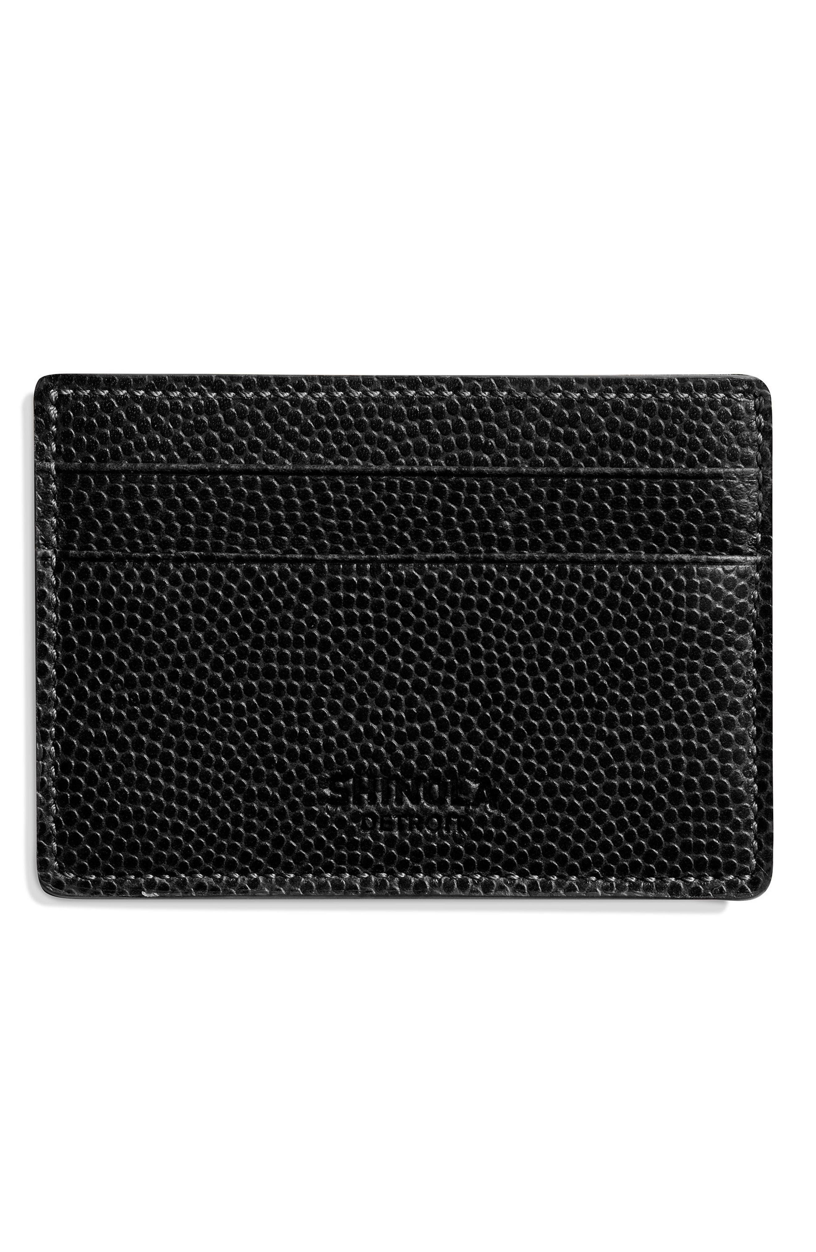 Alternate Image 2  - Shinola Latigo Leather Card Case