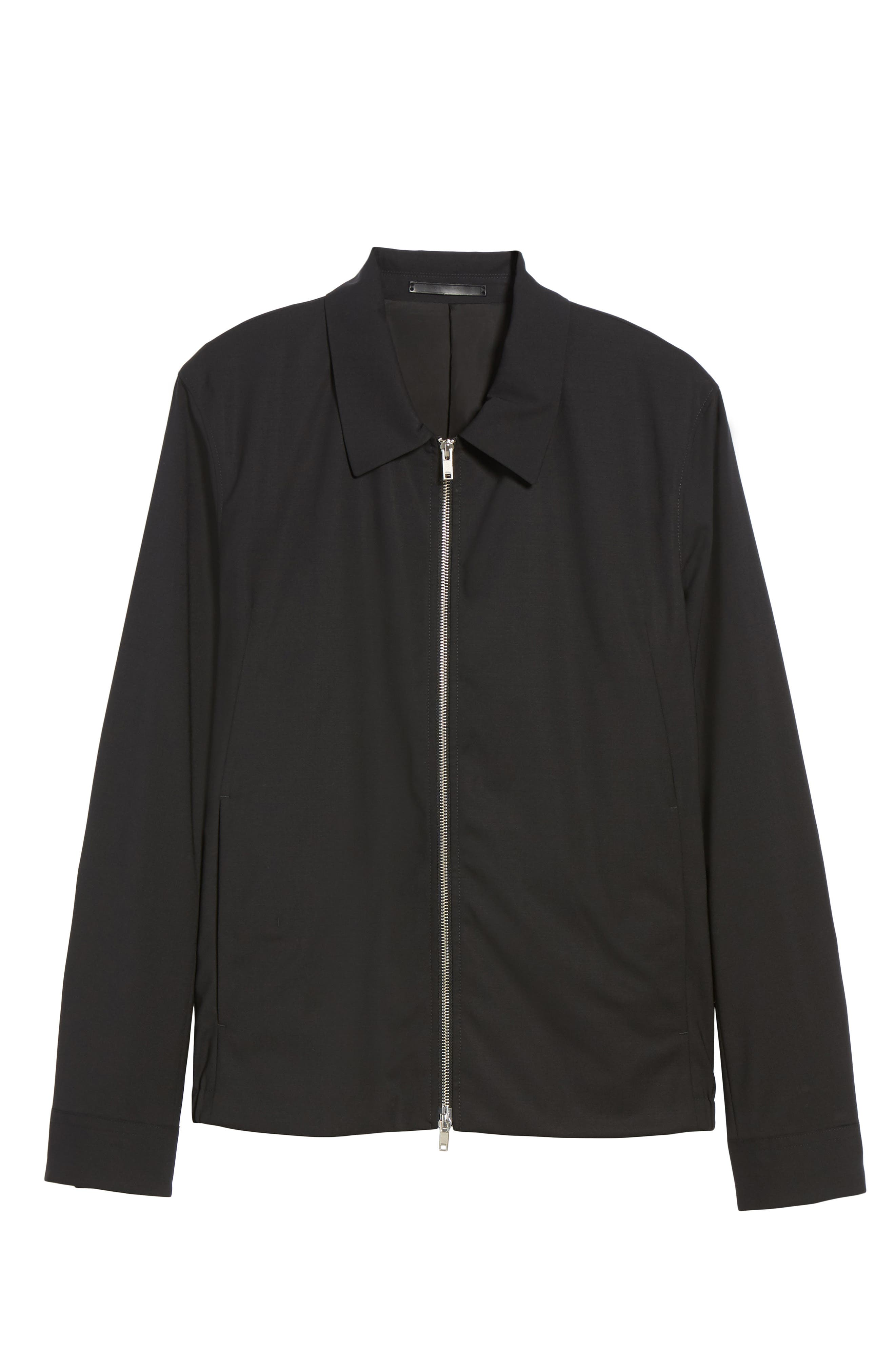 Alternate Image 6  - Theory Stretch Wool Zip Front Jacket