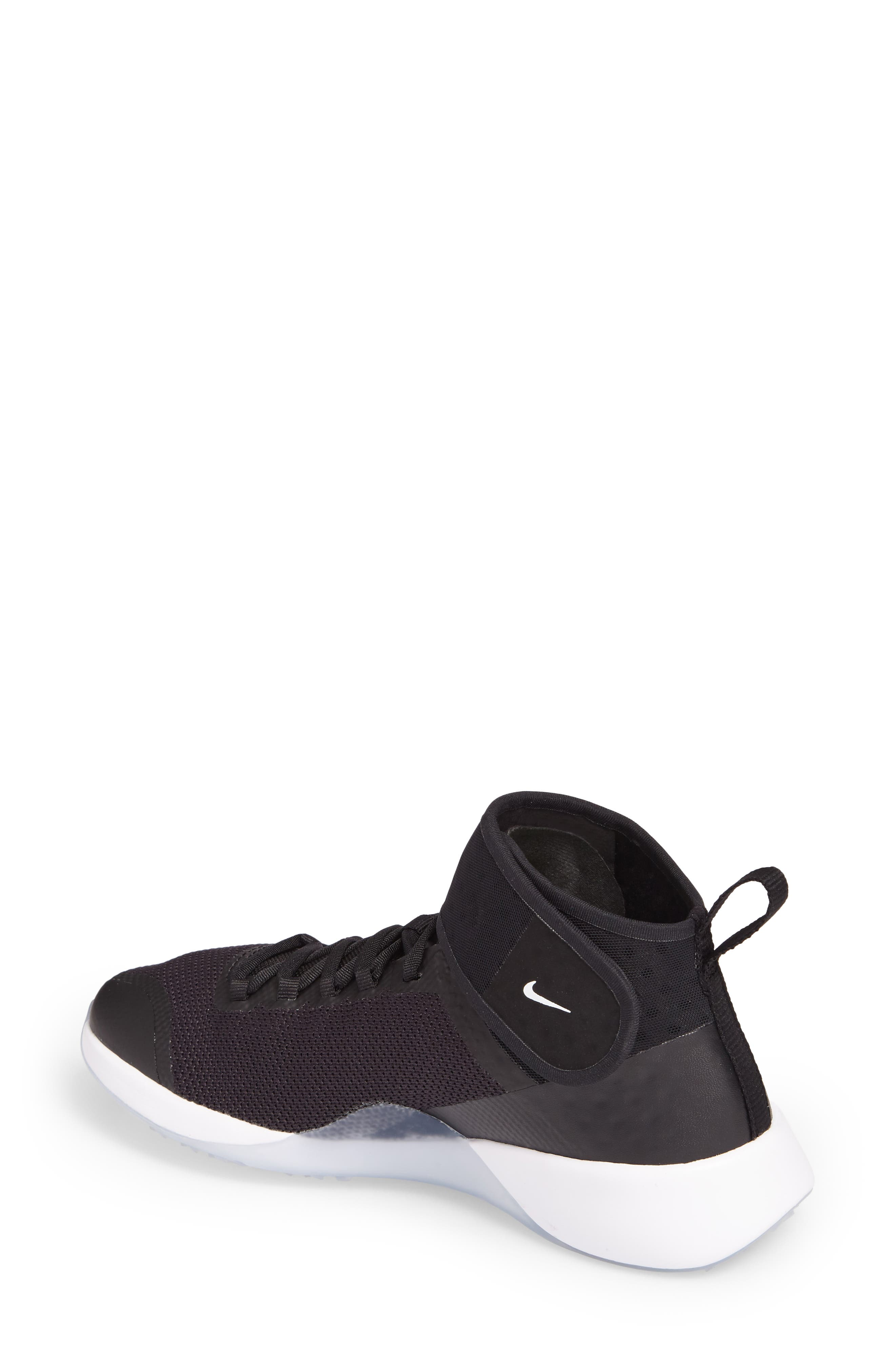 NikeLab Air Zoom Strong 2 Training Shoe,                             Alternate thumbnail 2, color,                             Black/ White