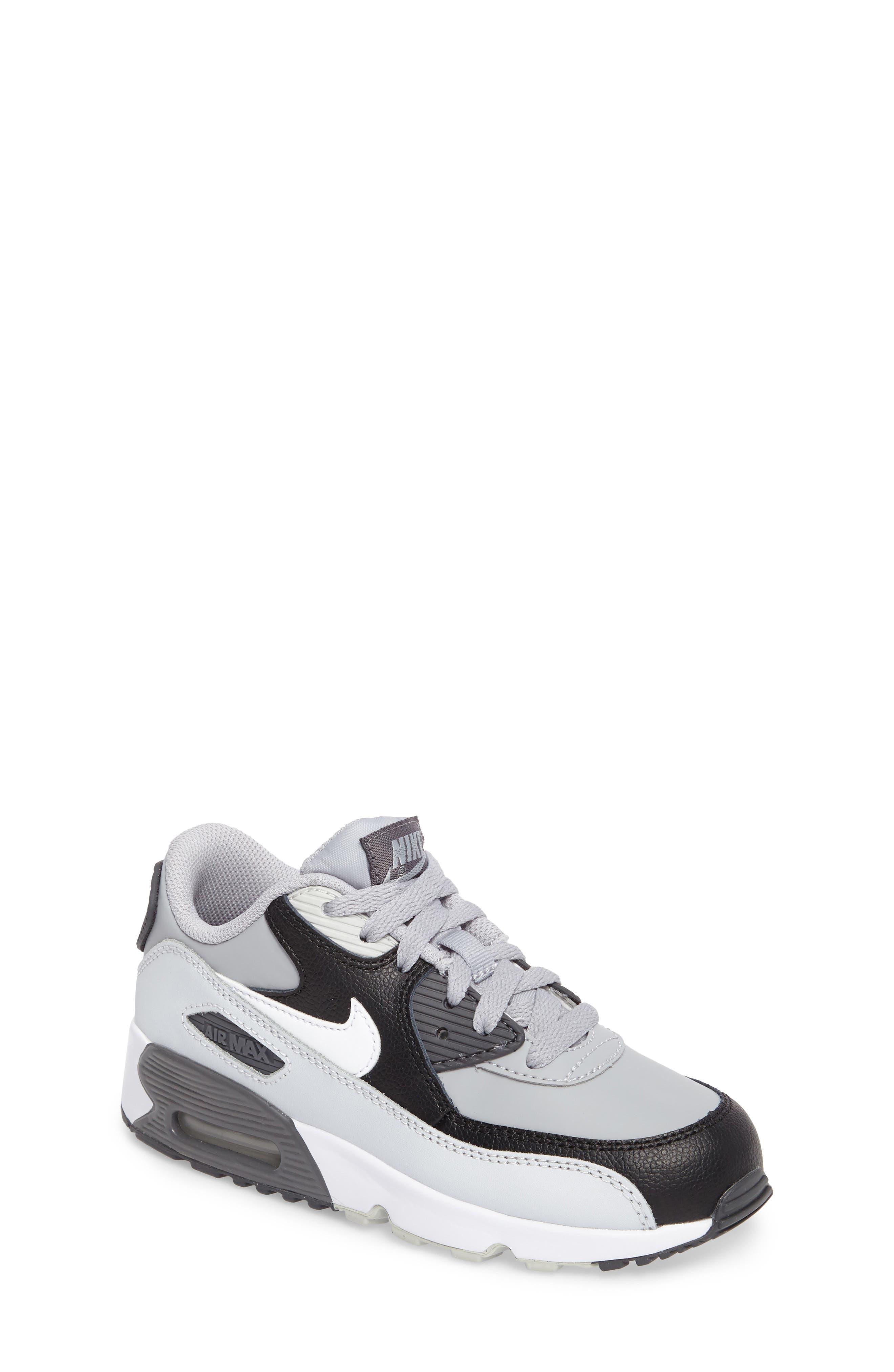 Nike 'Air Max 90 Premium' Sneaker (Toddler & Little Kid)