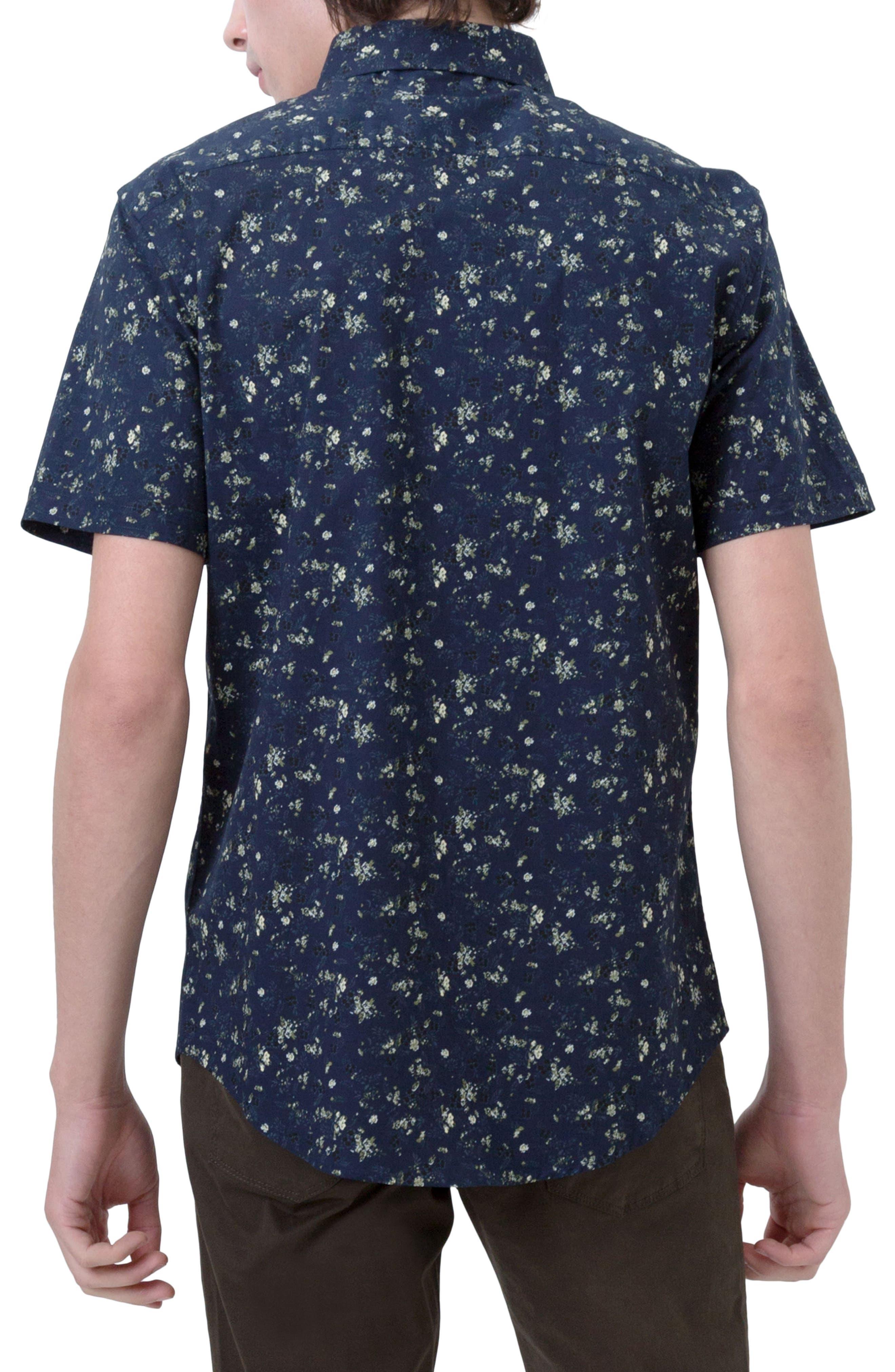 Alternate Image 2  - 7 Diamonds Rising Water Print Woven Shirt