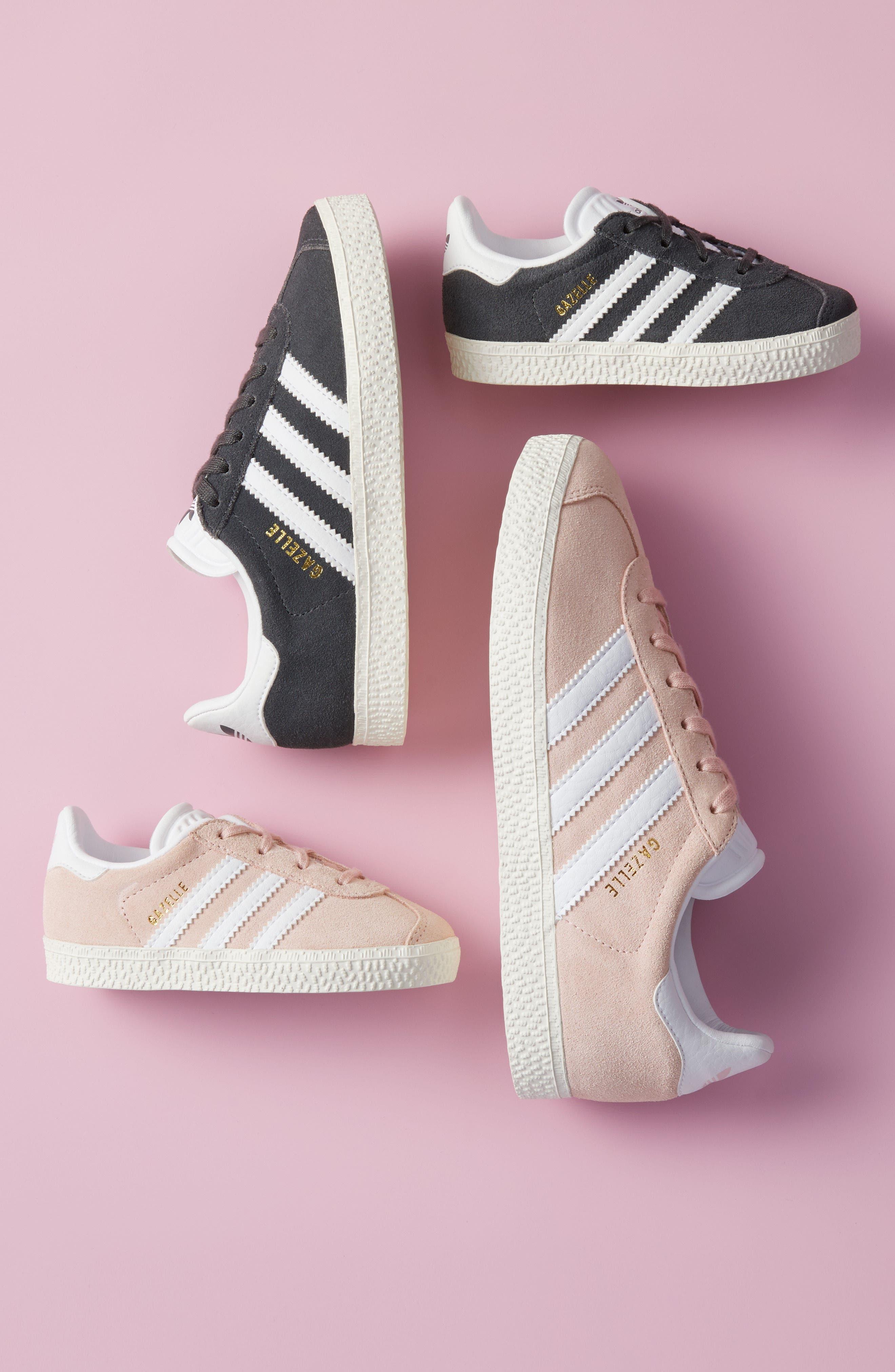 Alternate Image 6  - adidas Gazelle Sneaker (Toddler, Little Kid & Big Kid)