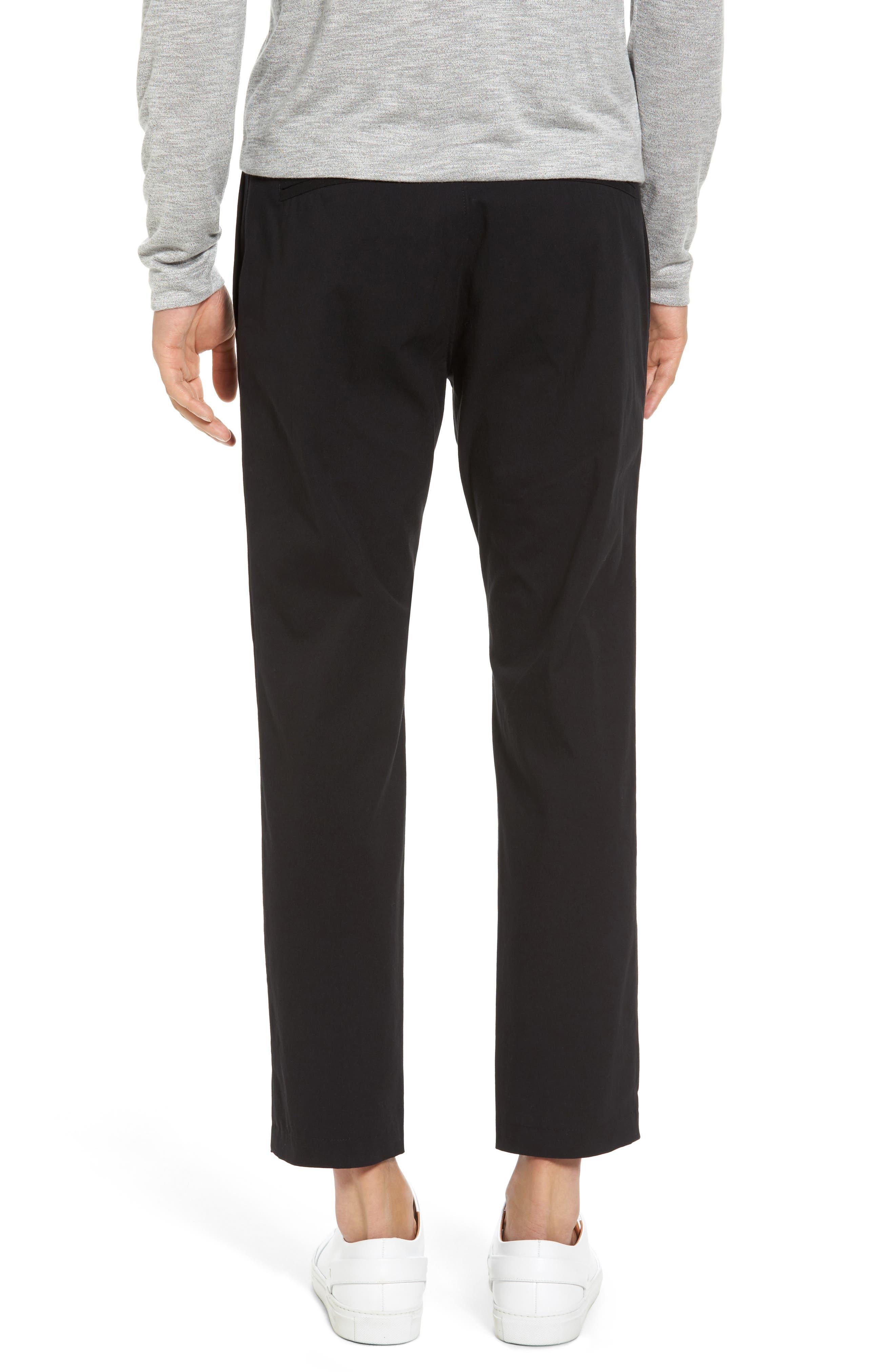 Utility Modern Straight Leg Pants,                             Alternate thumbnail 2, color,                             Black