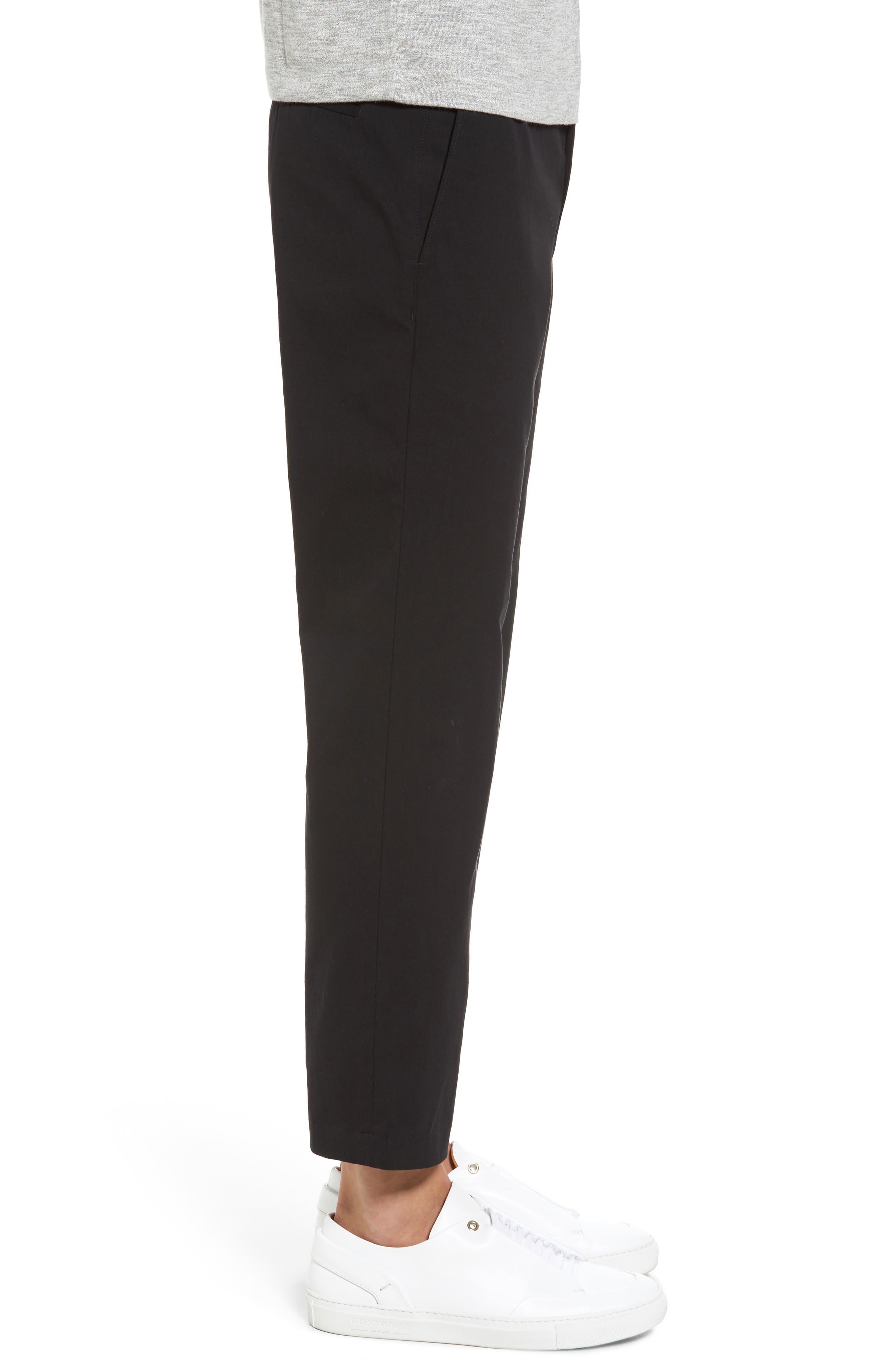 Utility Modern Straight Leg Pants,                             Alternate thumbnail 3, color,                             Black