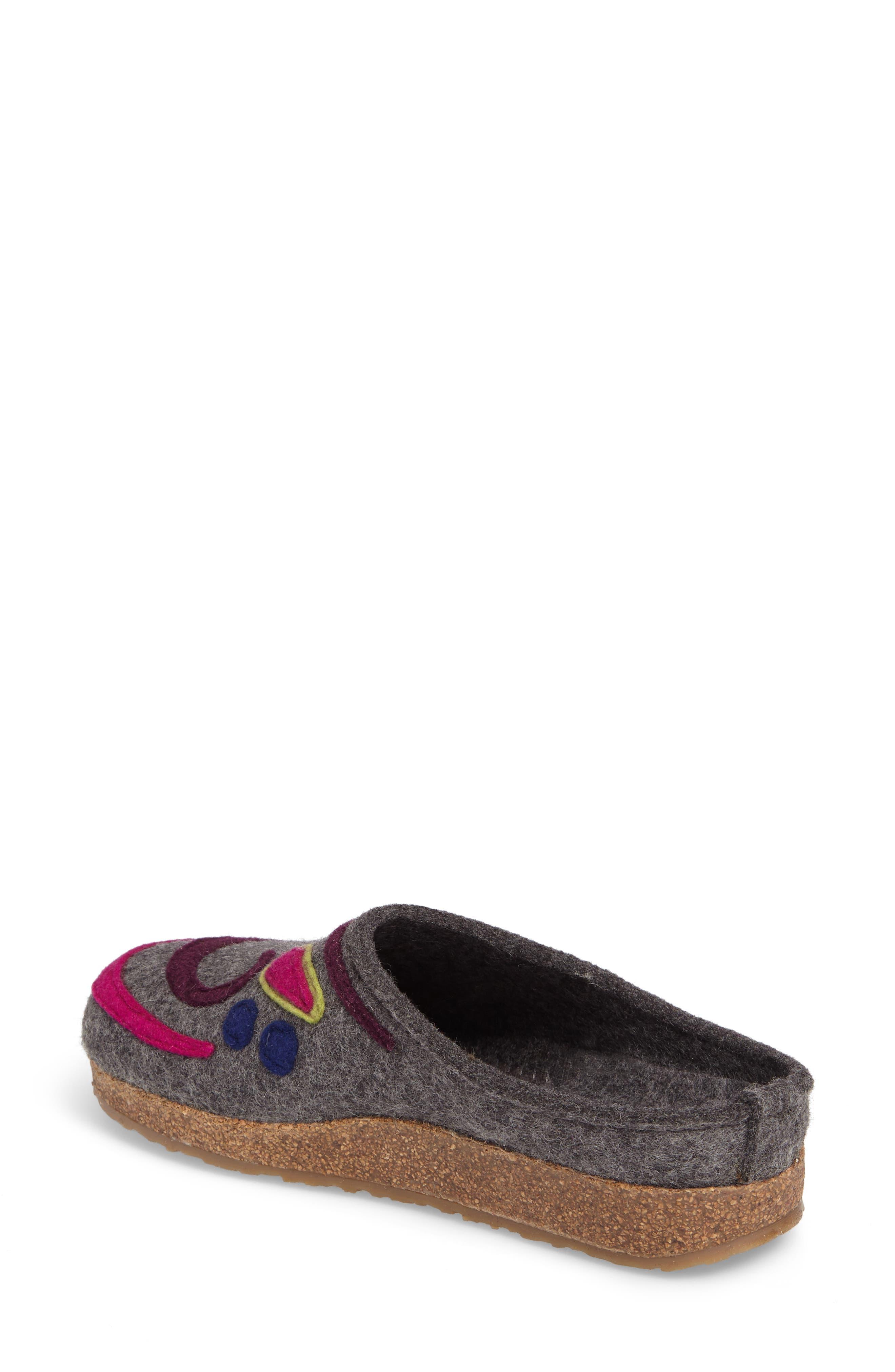 Harmony Slipper,                             Alternate thumbnail 2, color,                             Grey Wool