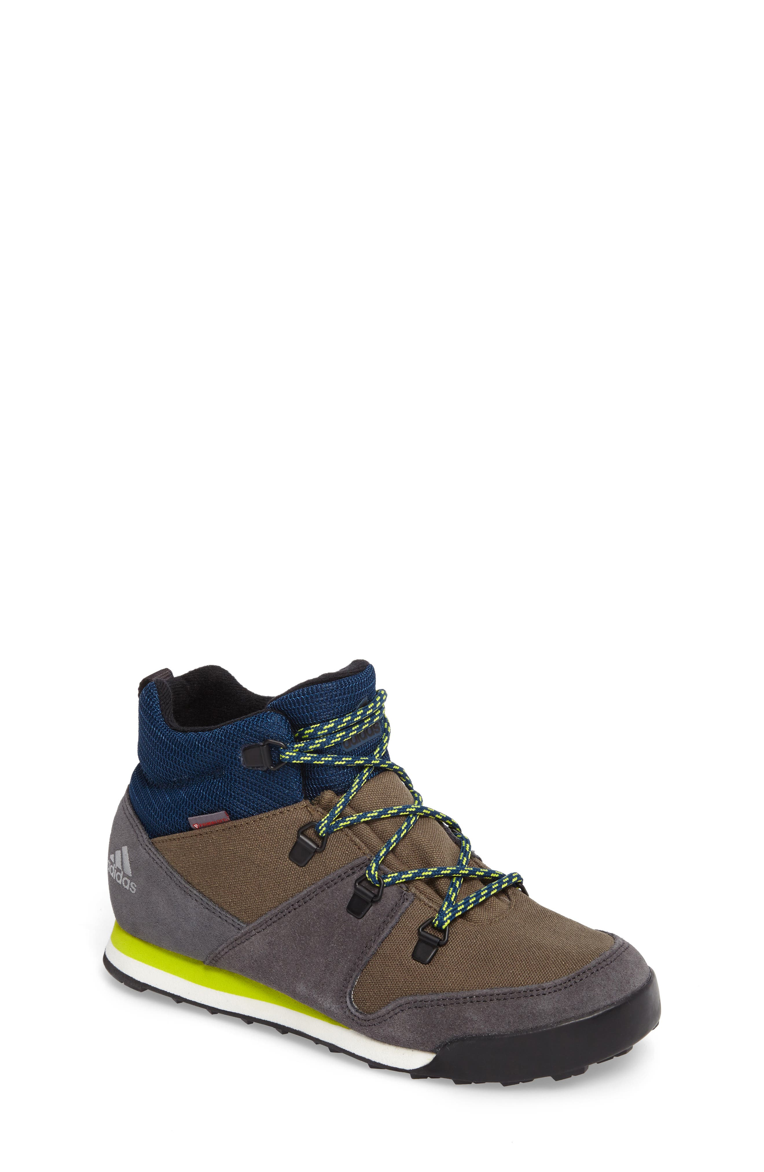 Snowpitch Insulated Sneaker Boot,                             Main thumbnail 1, color,                             Cargo/ Black/ Solar Yellow