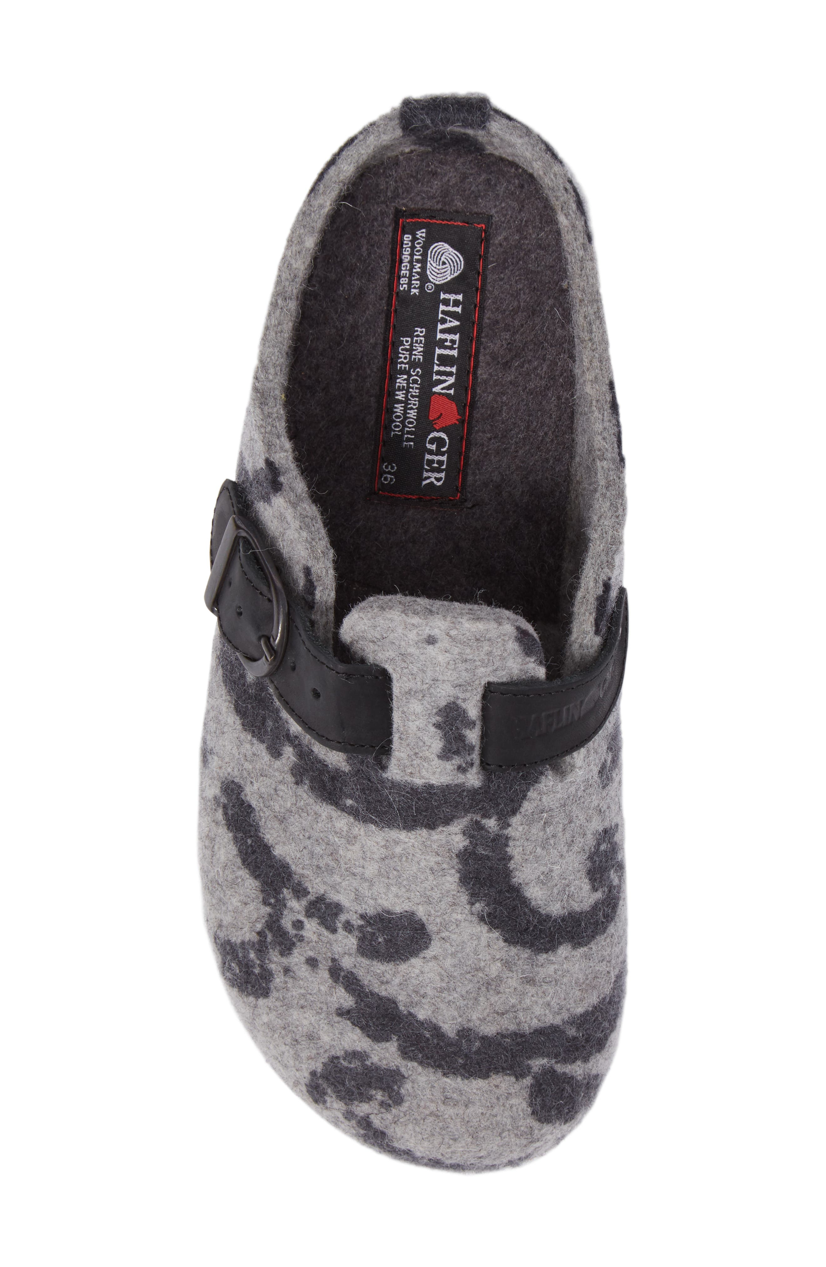 Alternate Image 5  - Haflinger GZB Print Slipper (Women)